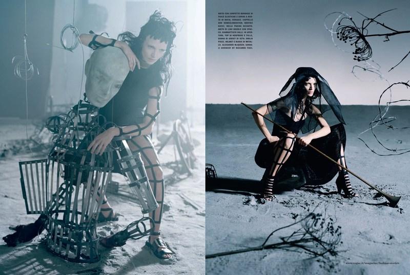 'Like a Warrior' Mariacarla Boscono-Tim Walker-Vogue Italia-1.jpg