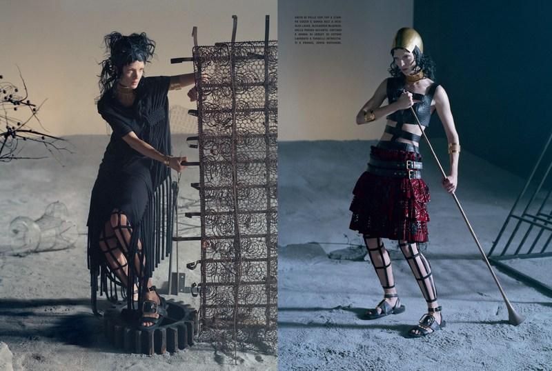 'Like a Warrior' Mariacarla Boscono-Tim Walker-Vogue Italia-7.jpg
