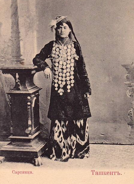 ca 1900 // Sarte Woman, Uzbekistan