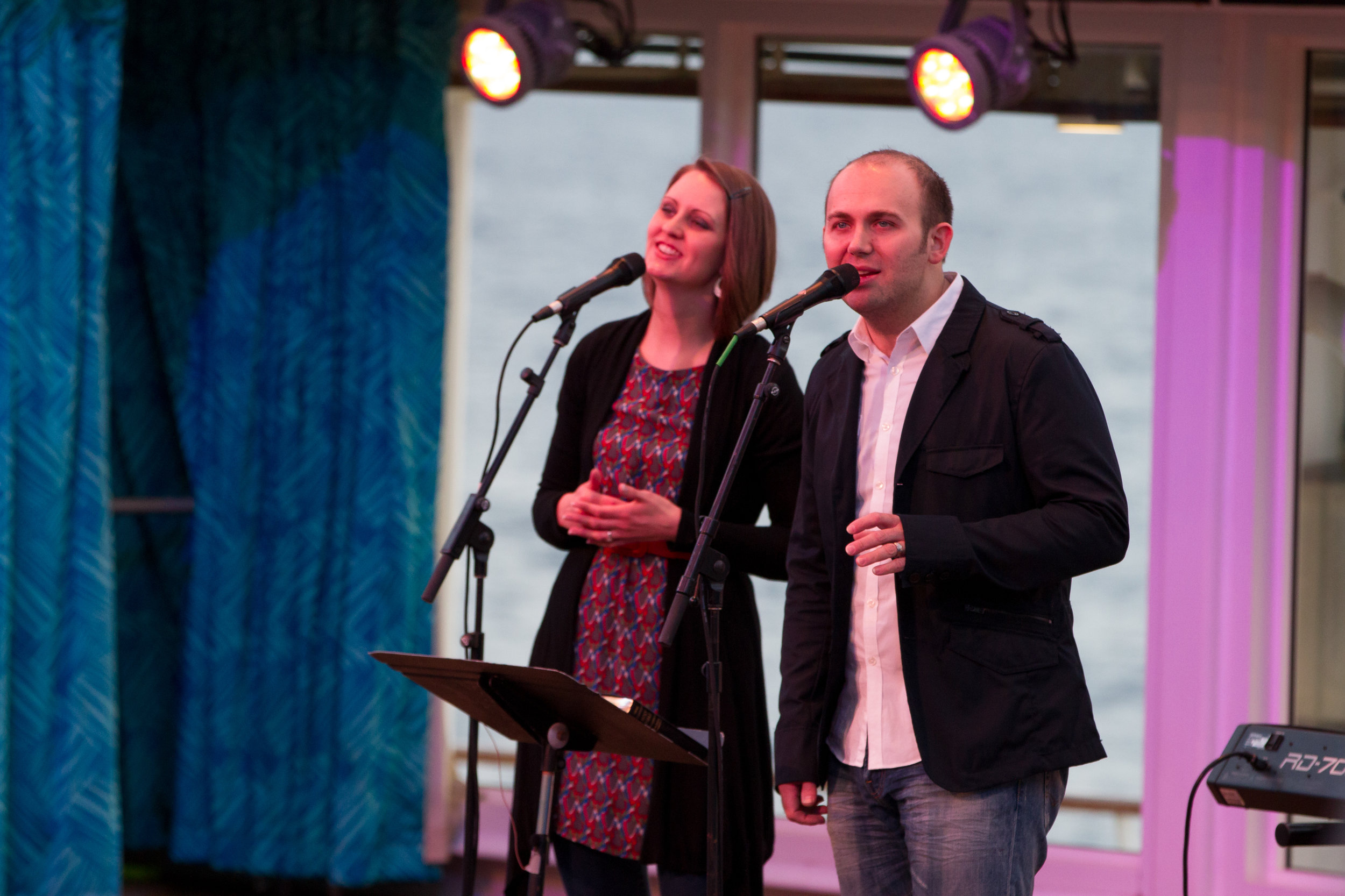 Leading Worship at Cruise Sunrise Service.jpg