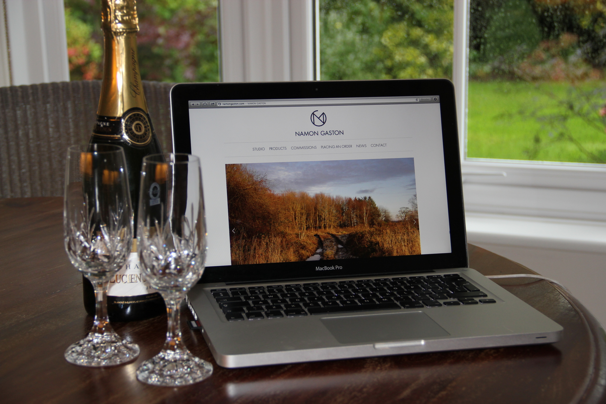 furniture designer maker launched new website for custom bespoke commission work