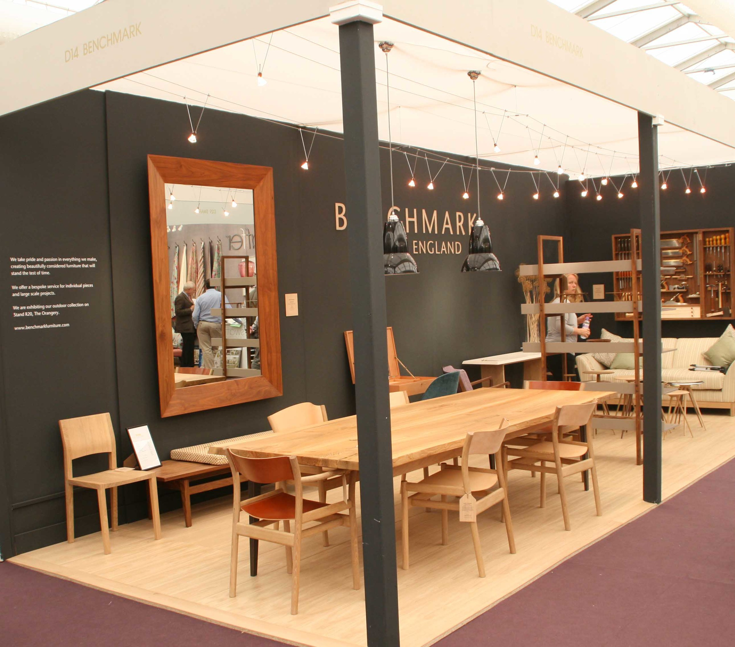 Hand crafted Oxbow dining chair launched at exhibition designed by furniture maker Namon Gaston