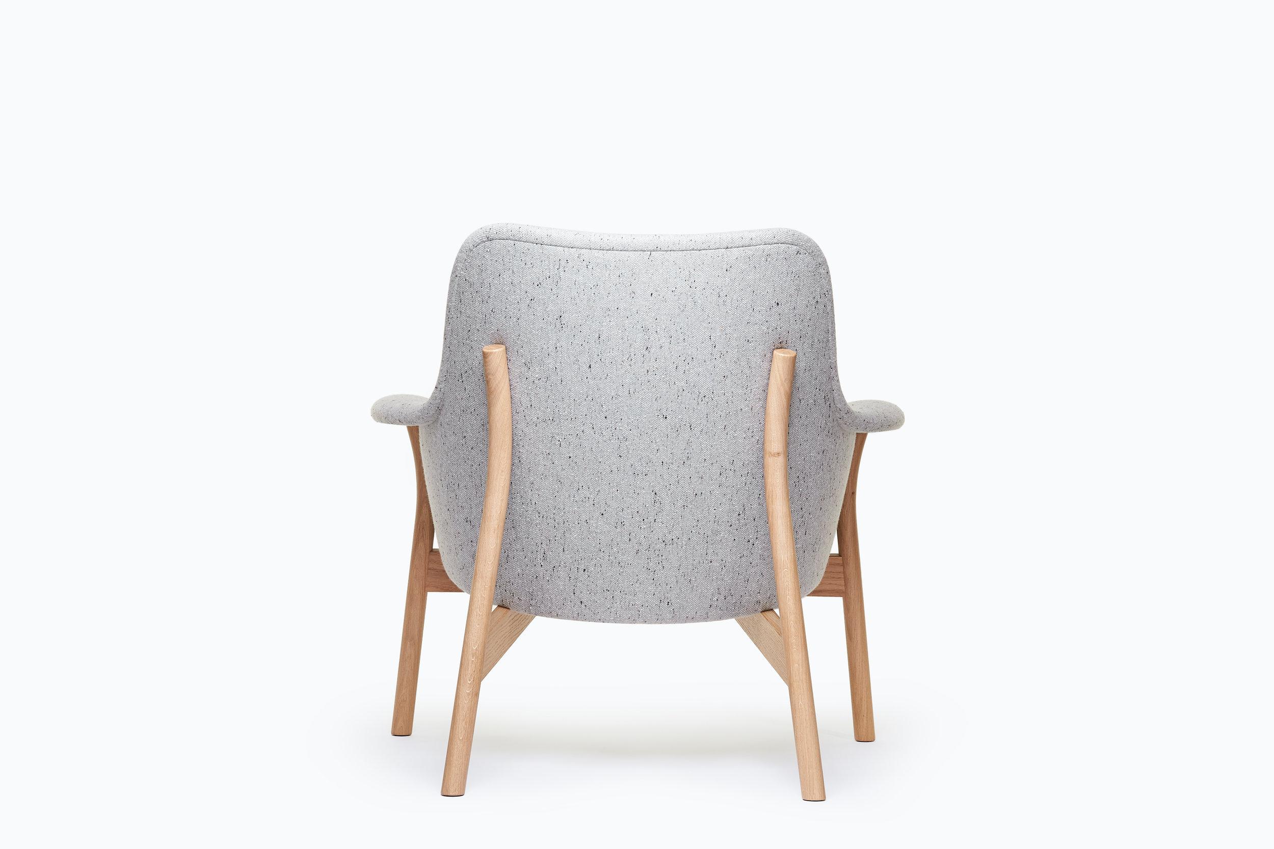Oxbow Lounge Chair in Oak