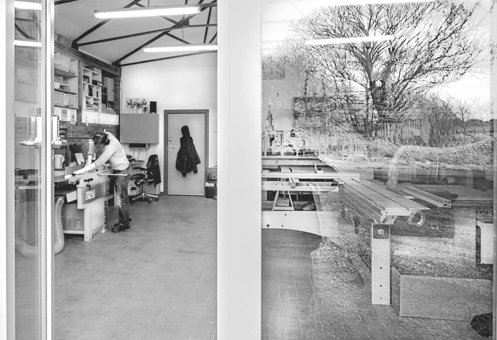 Bespoke custom furniture designed and handmade in Edinburgh