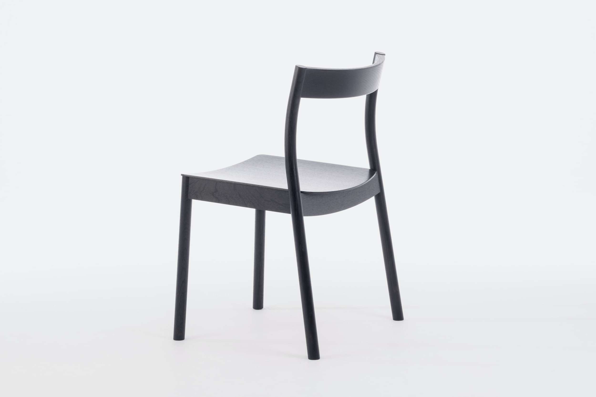 Alma Stacking Chair with Upholstered seat pad