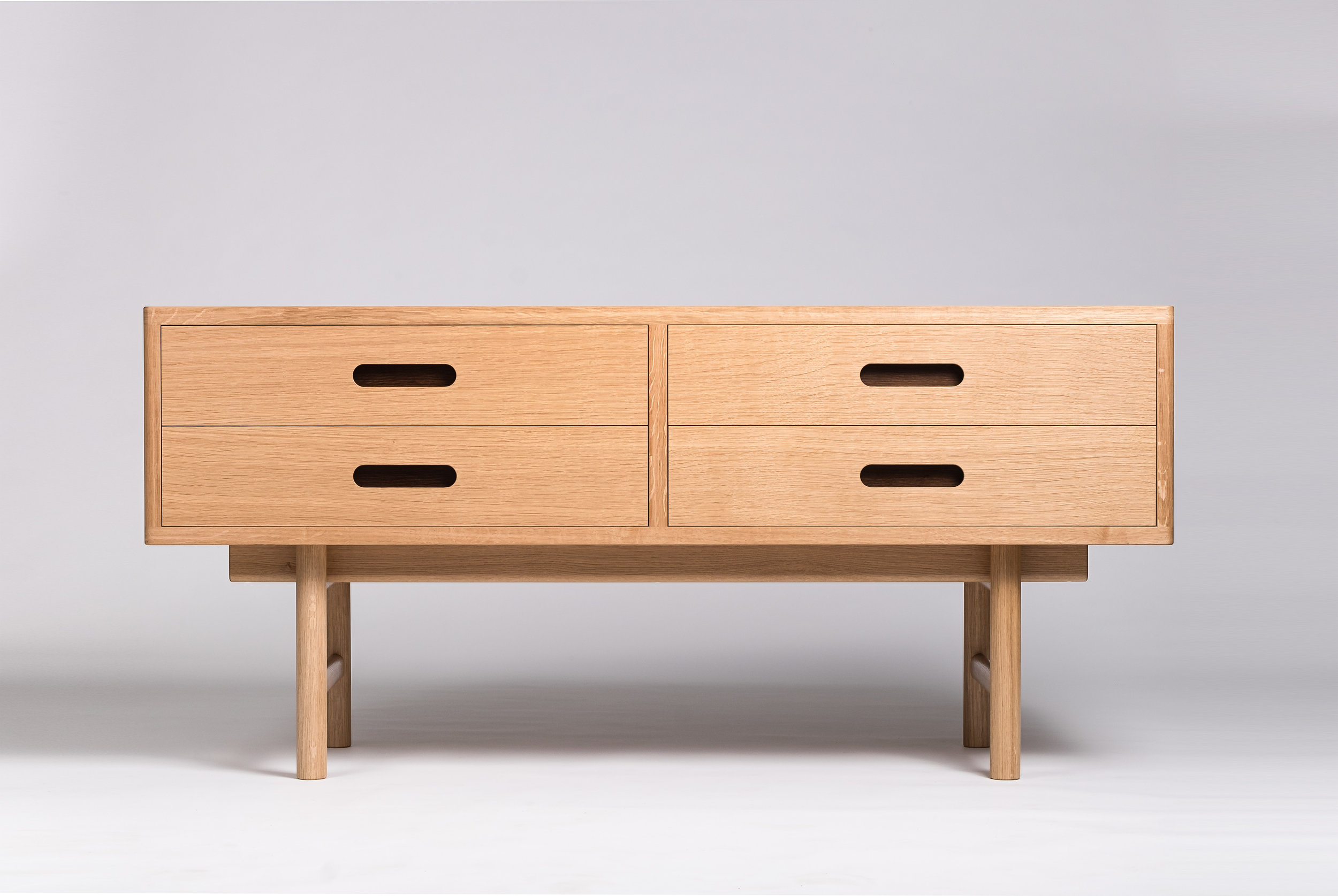 Stewart Oak and Sycamore Cabinet