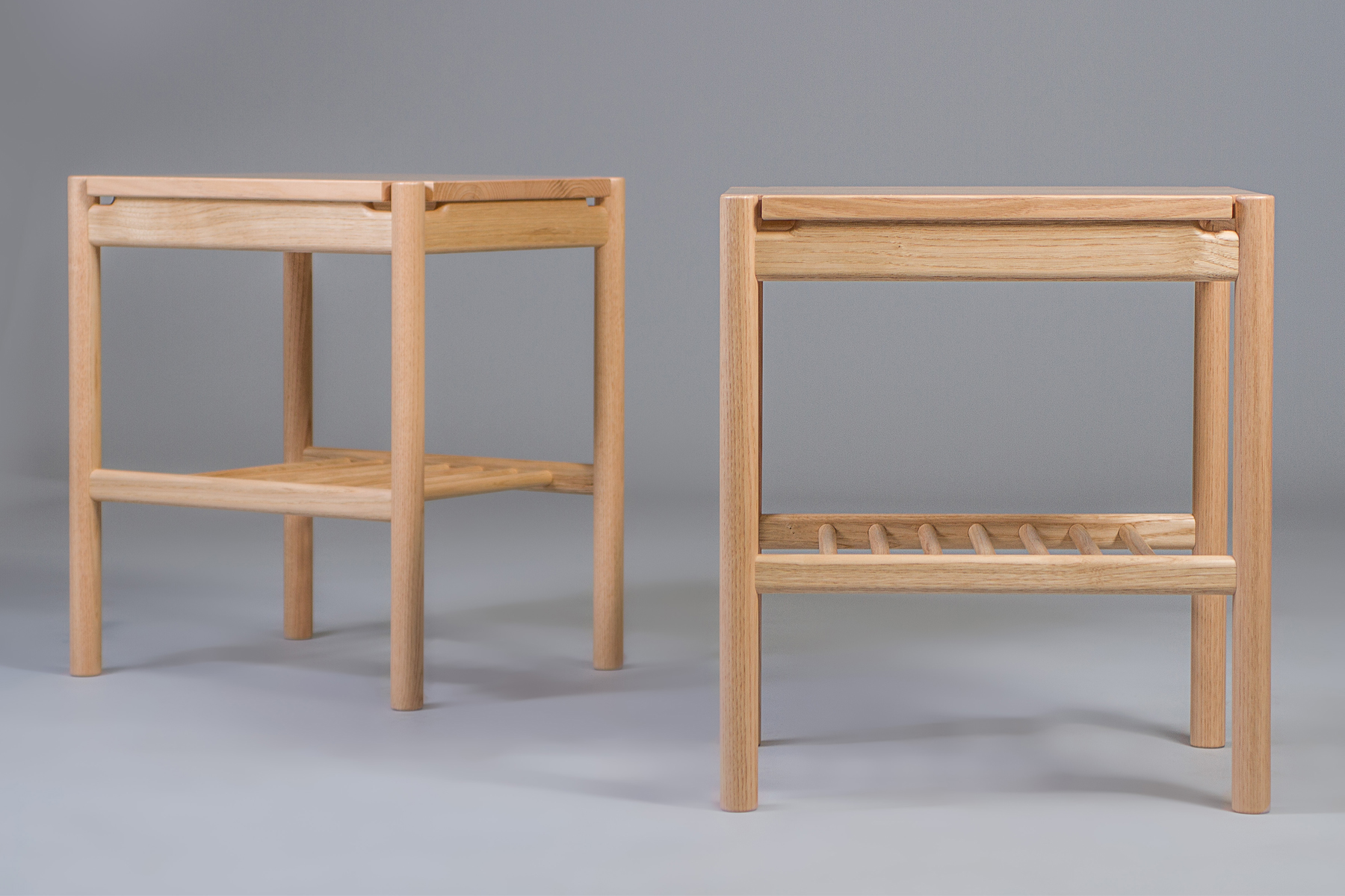 Pair of Sweet Chestnut Night stands