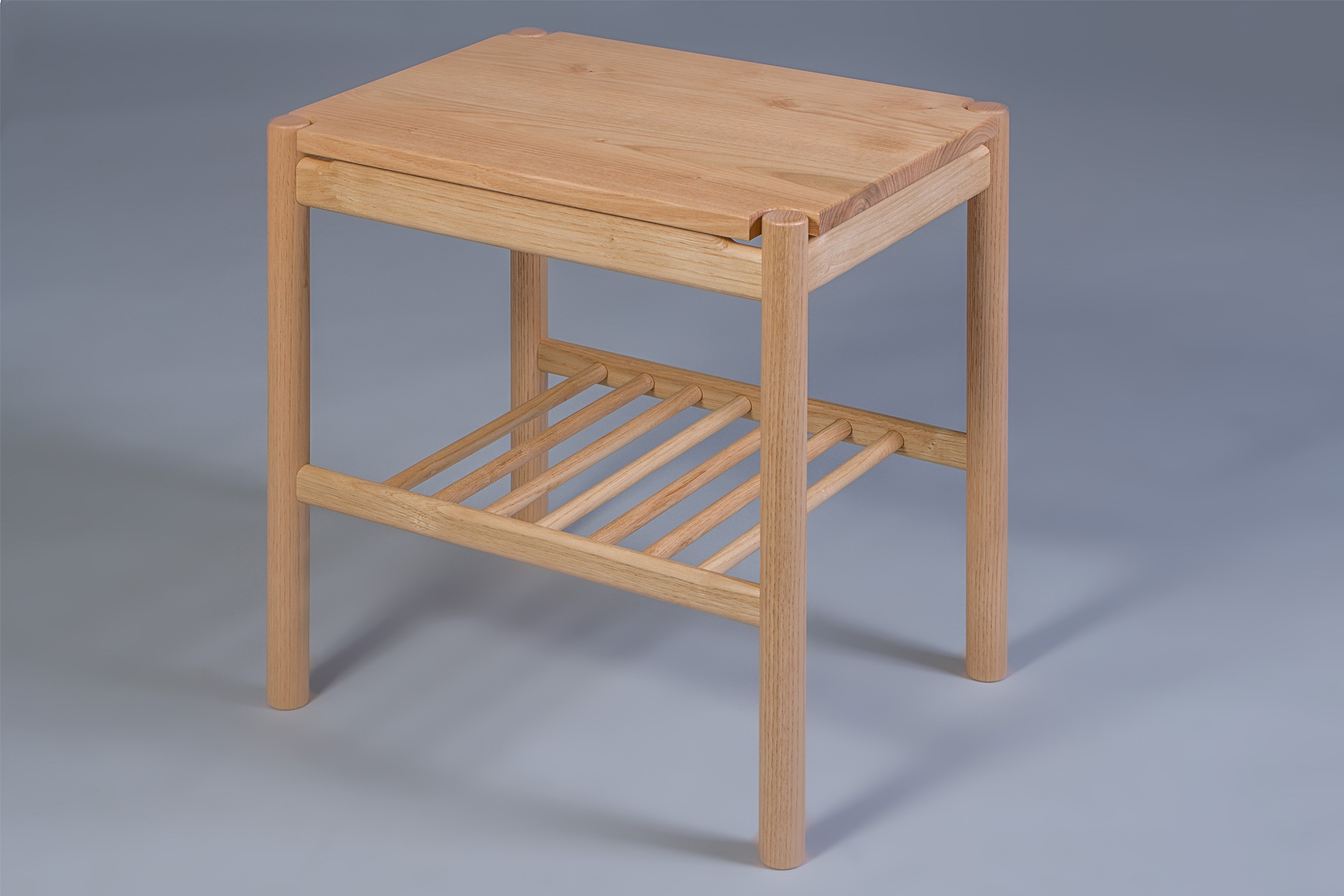 Bespoke English Sweet Chestnut bed side tables