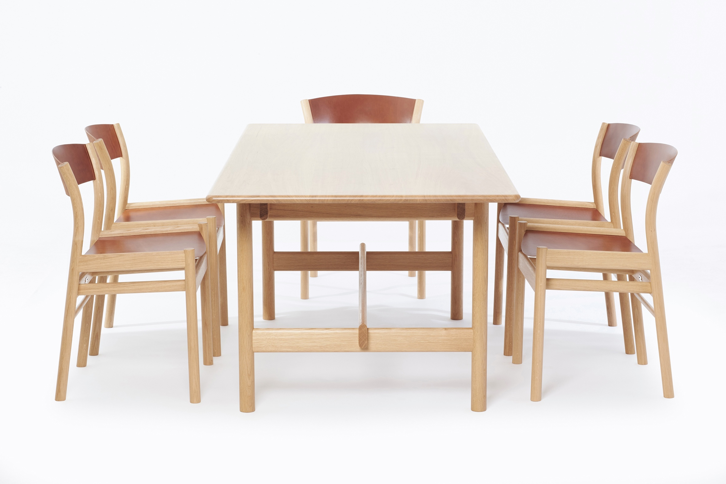Oxbow Dining Table and Chairs