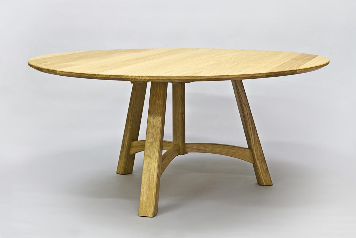 handmade Scottish oak table
