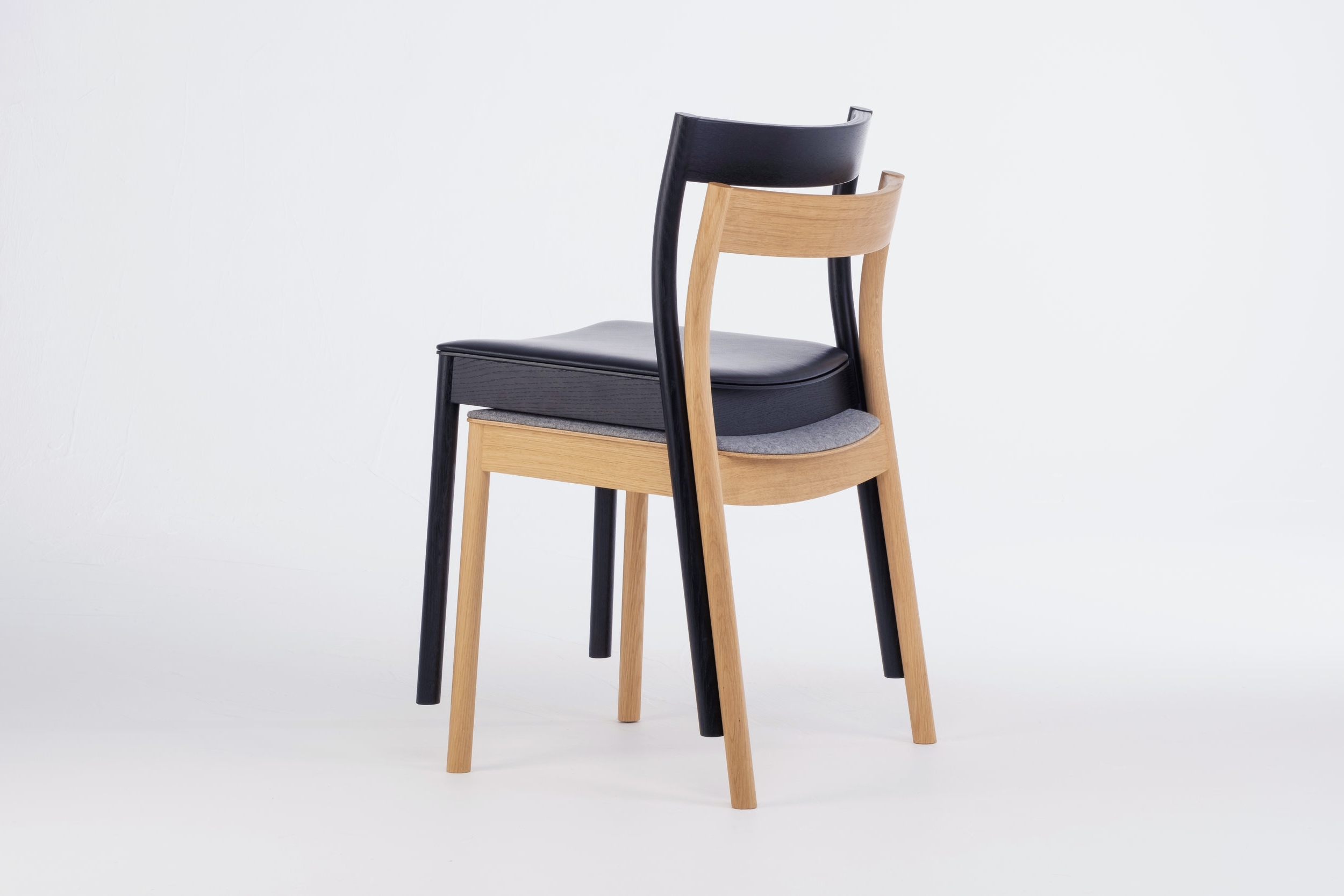Alma chairs stacked
