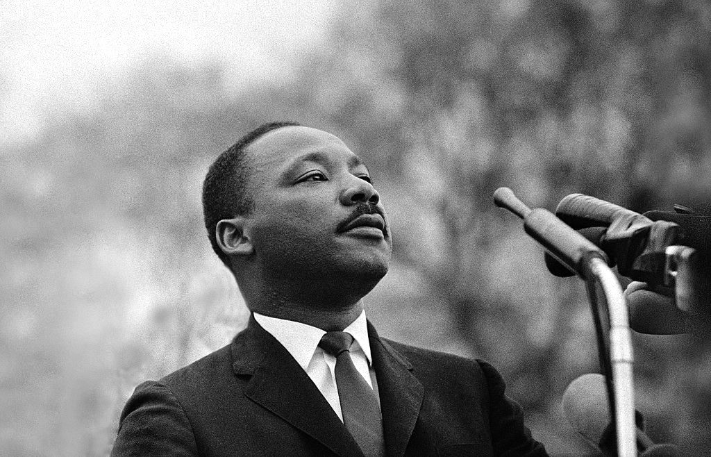Martin Luther King, Jr. Stephen F. Somerstein/Archive Photos/Getty Images