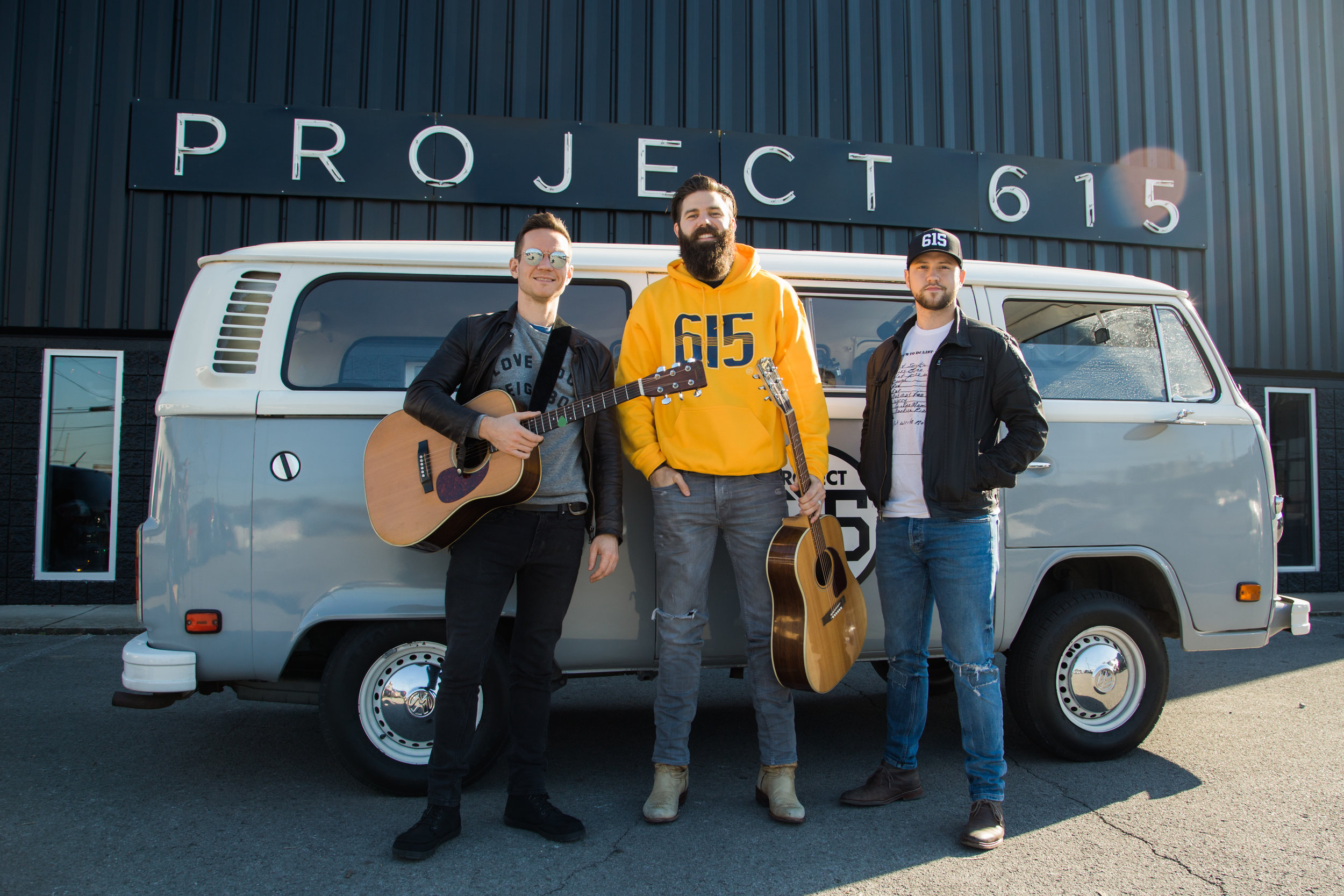 """Project 615 Presents: The 615 Bus Sessions, celebrating the spirit of Music City from our 1978 VW Bus, affectionately named """"Dolly""""."""