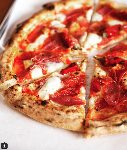 One of DeSanos signature pizzas -- A staff favorite we can't resist.