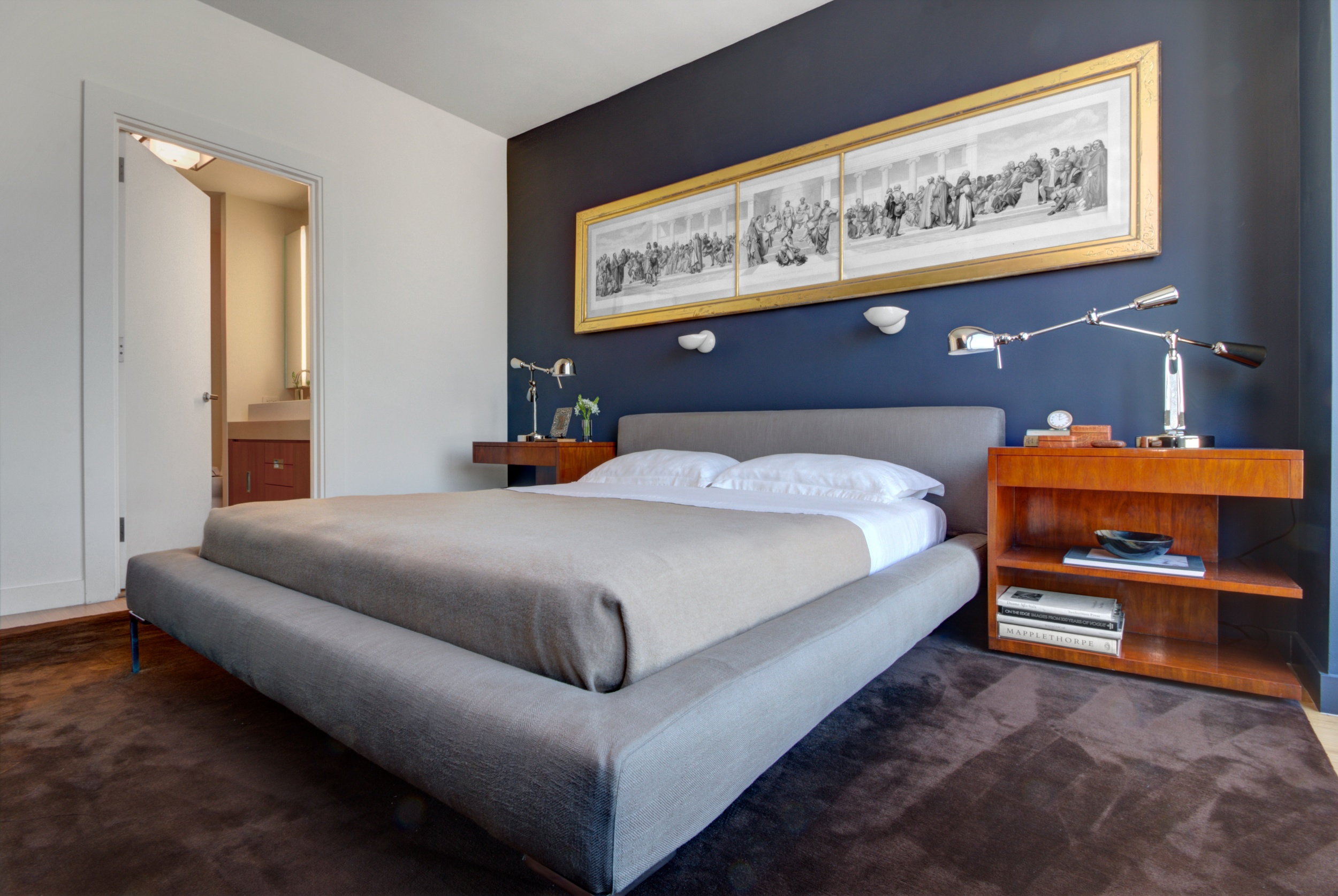 Meatpacking Residence - Master Bedroom - New York City