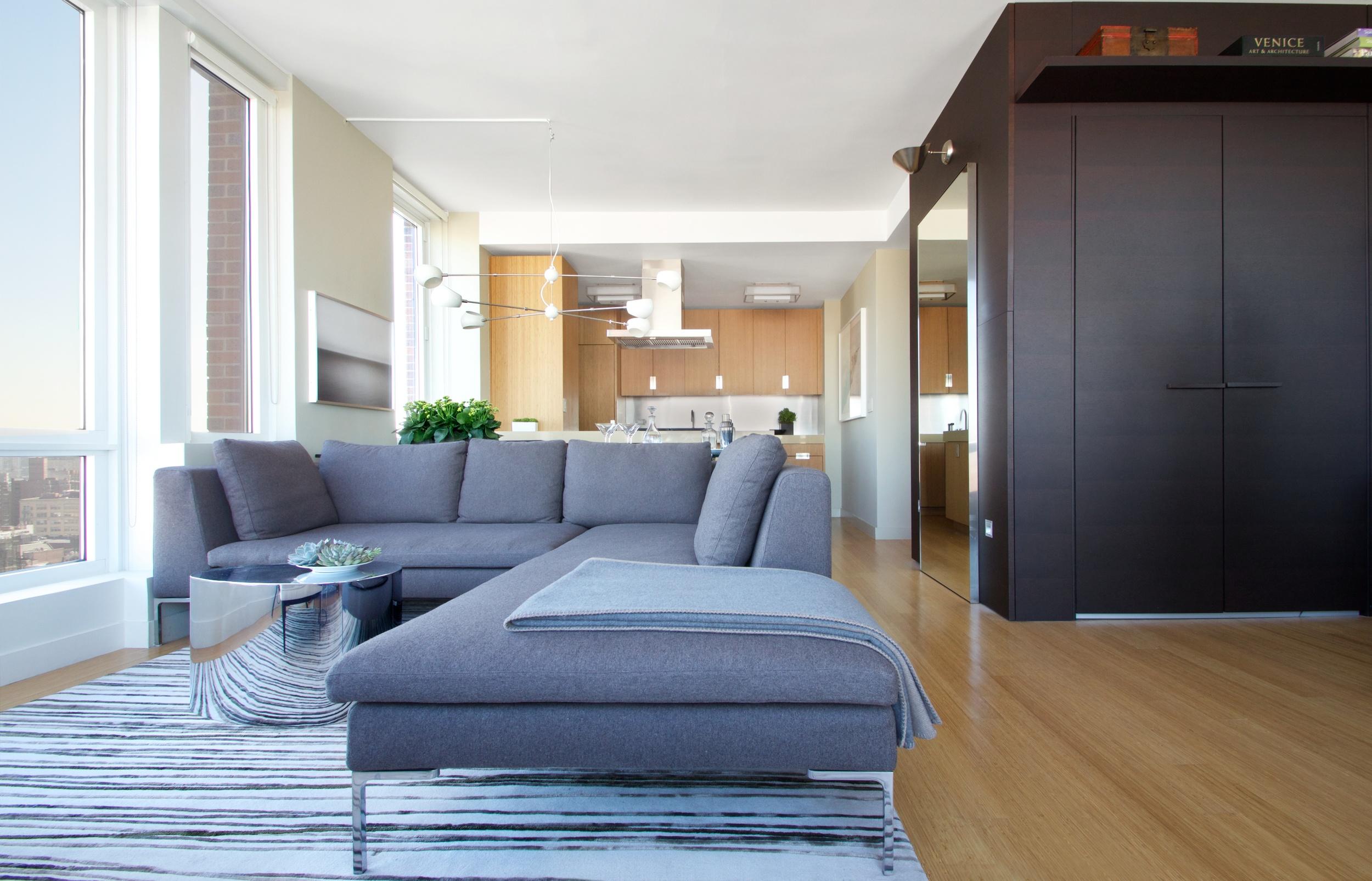 Meatpacking Residence - Living Room - New York City