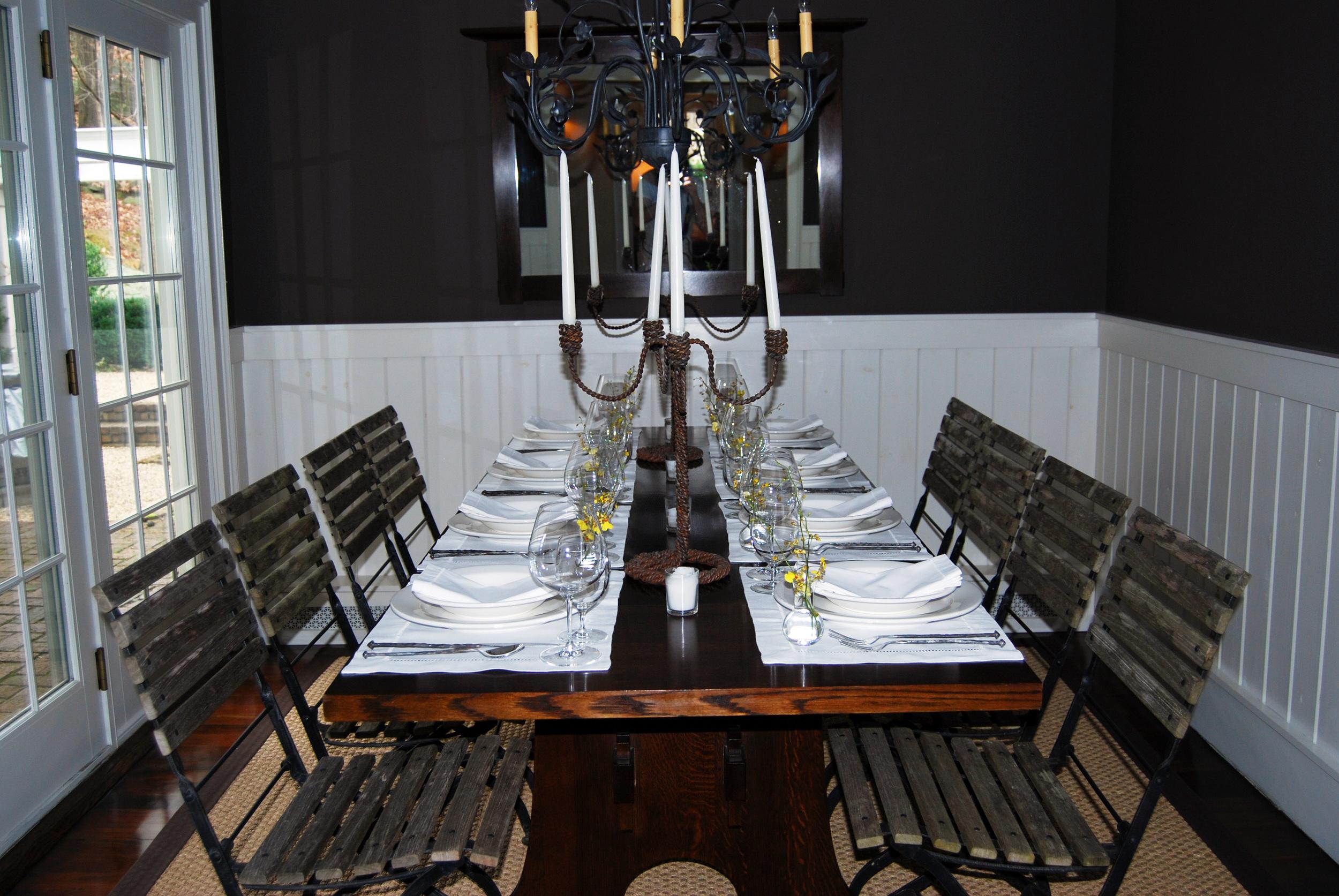 HUDSON VALLEY FARMHOUSE - Cold Spring, NY - Dining Room