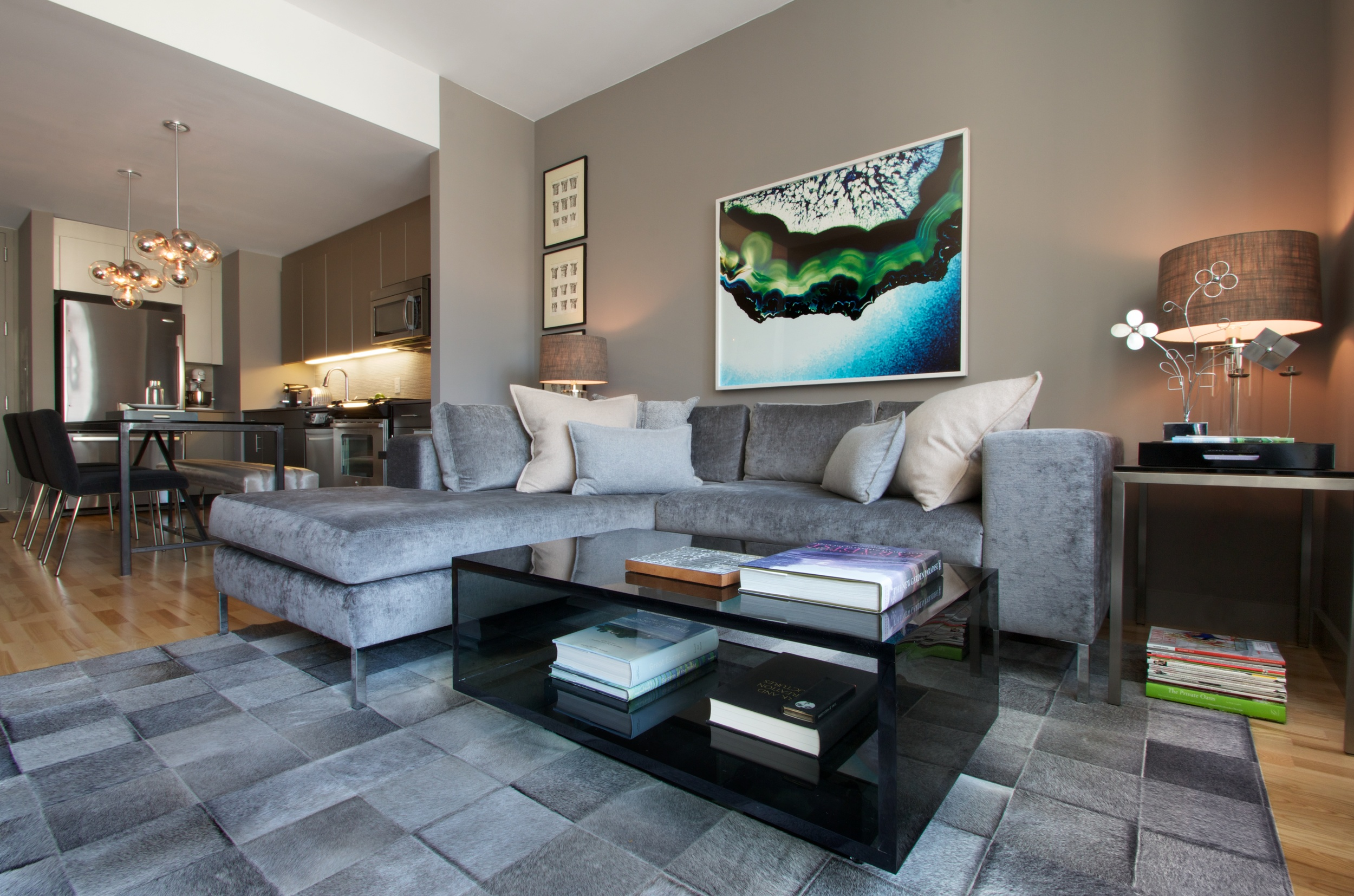 Highline Residence - Living Room