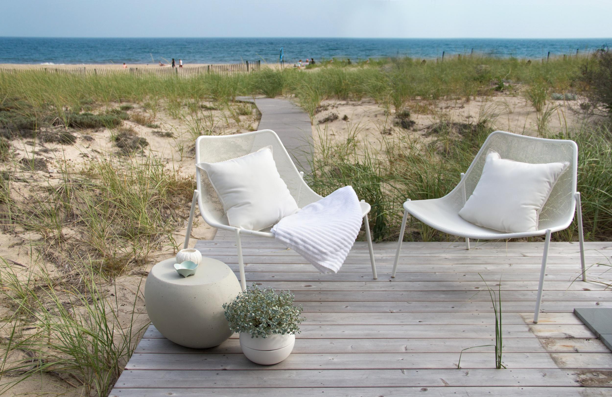 Schoeller + Darling Design - Amagansett Beach House - Beach Front Deck 2