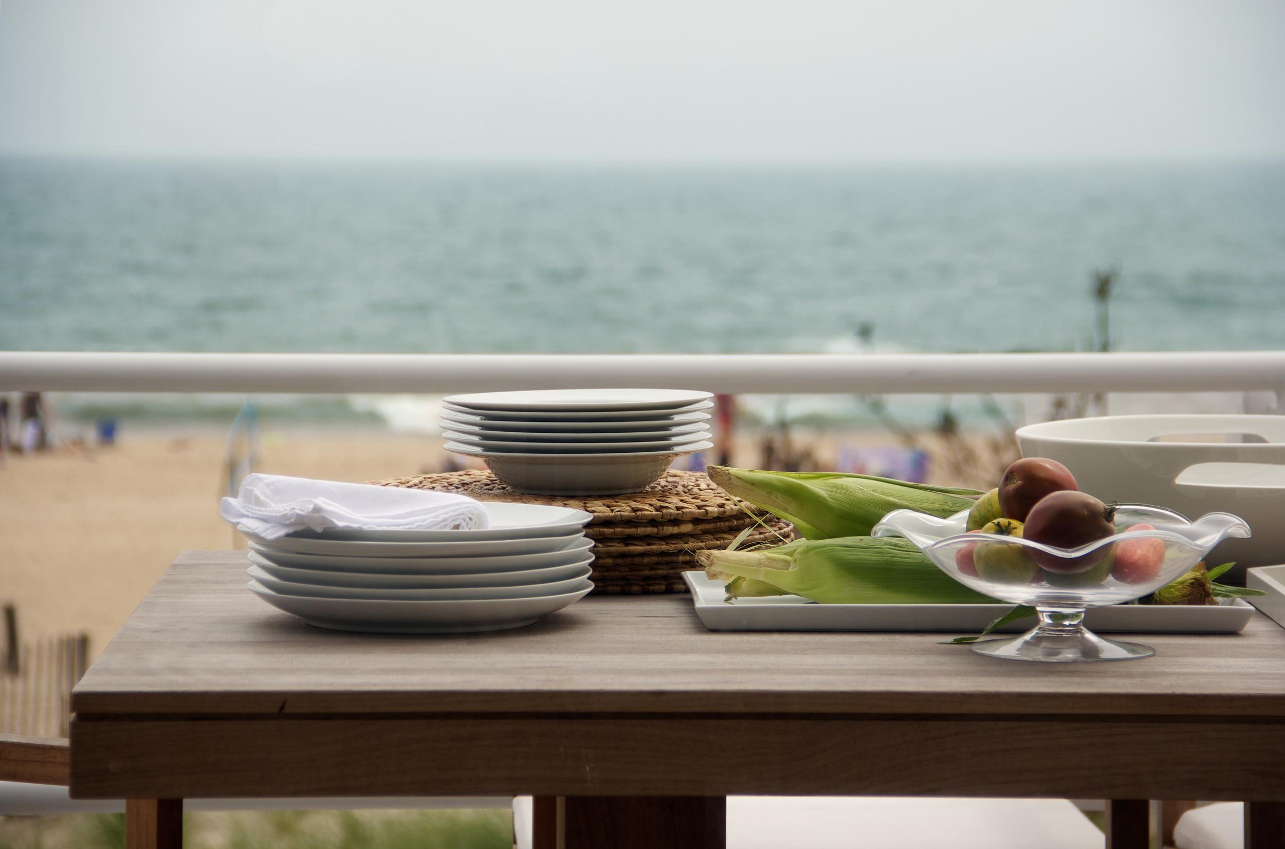 Schoeller + Darling Design - Amagansett Beach House - Al Fresco Dining