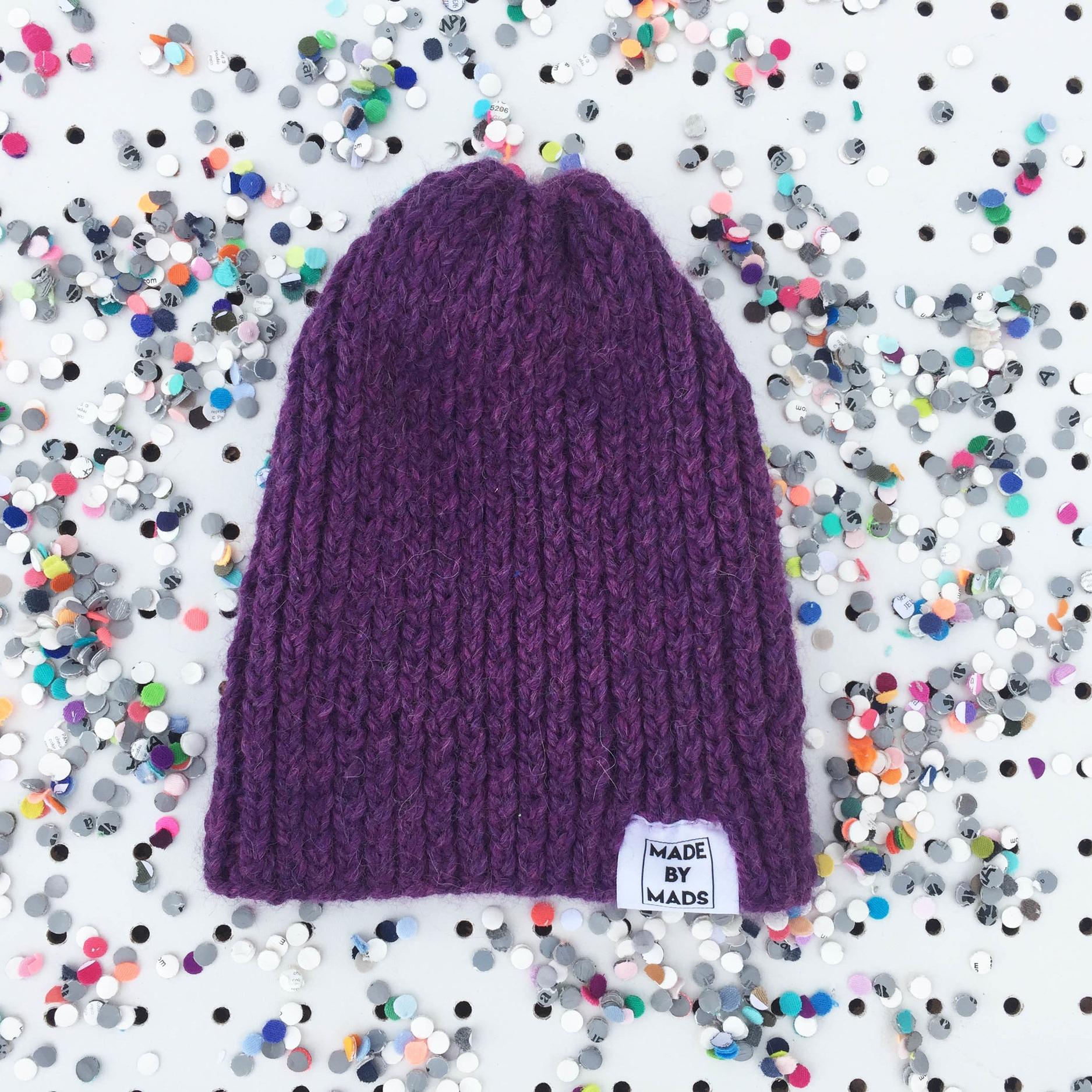 Hat: Plum
