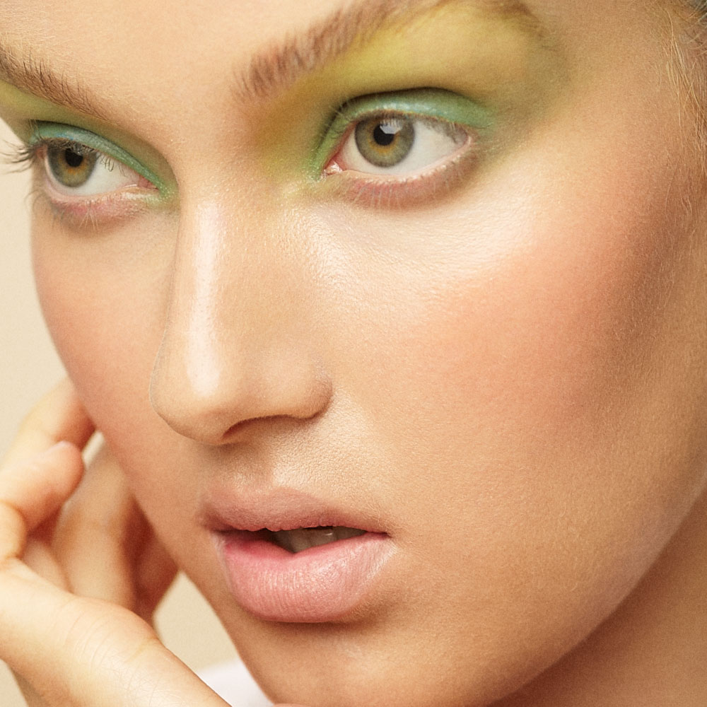 POPCYCLE MAGAZINE NO.2 / BEAUTY RETOUCHING / COLOR ME CANDY / DETAIL