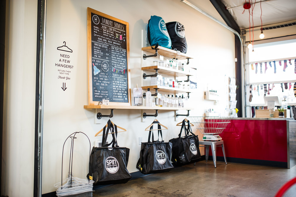 Soap Shop — Spin Laundry Lounge
