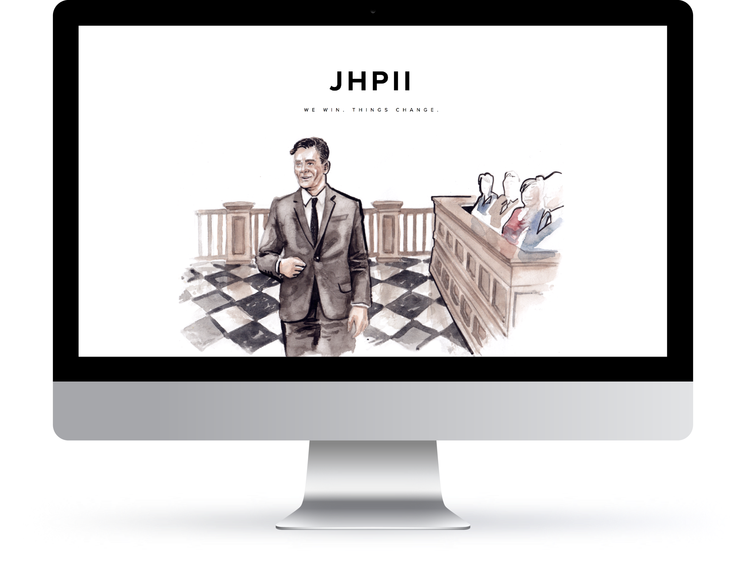 web | identity | branding for jhpii atlanta