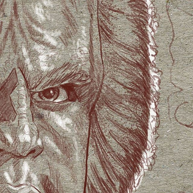 I'm happy to be making an appearance on @everydayorig in November. Attached is a teaser drawing for the portrait I'm about to start. Qapla!! #startrek #afrocentric #afrofuturism #drawing #sciencefiction #africanart #futuristic #scifiart #blackart #imaginativerealism #instagood #instaart #instadaily  #portraitpainting #oilpainting  #portrait #artgallery #wip  #artsanity #artist #arte #traditionalart #art #artwork #instapic #artoftheday #figurativeart  #artistsoninstagram
