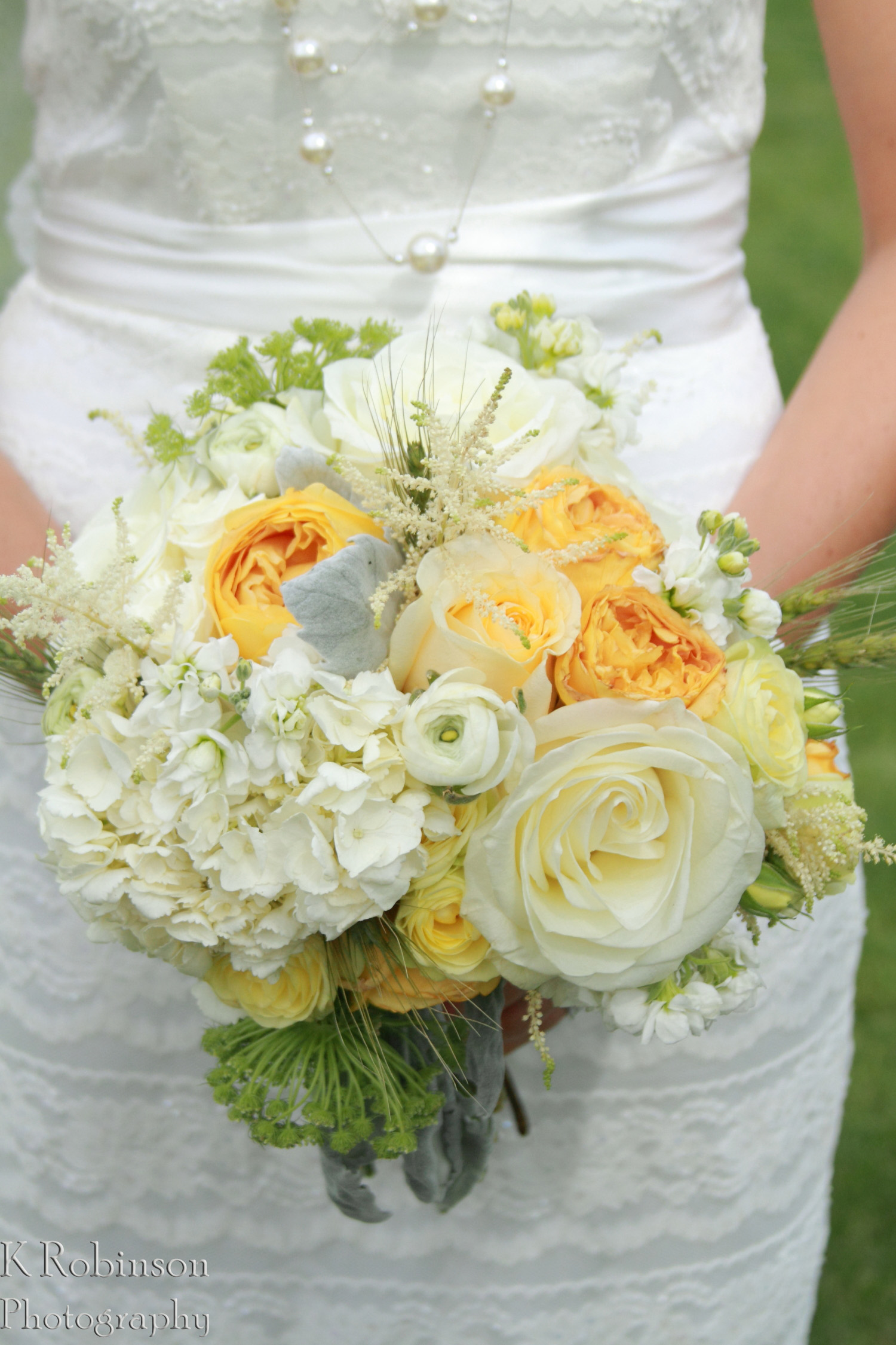 Yellow Wedding Bouquet Grand Junction Florist