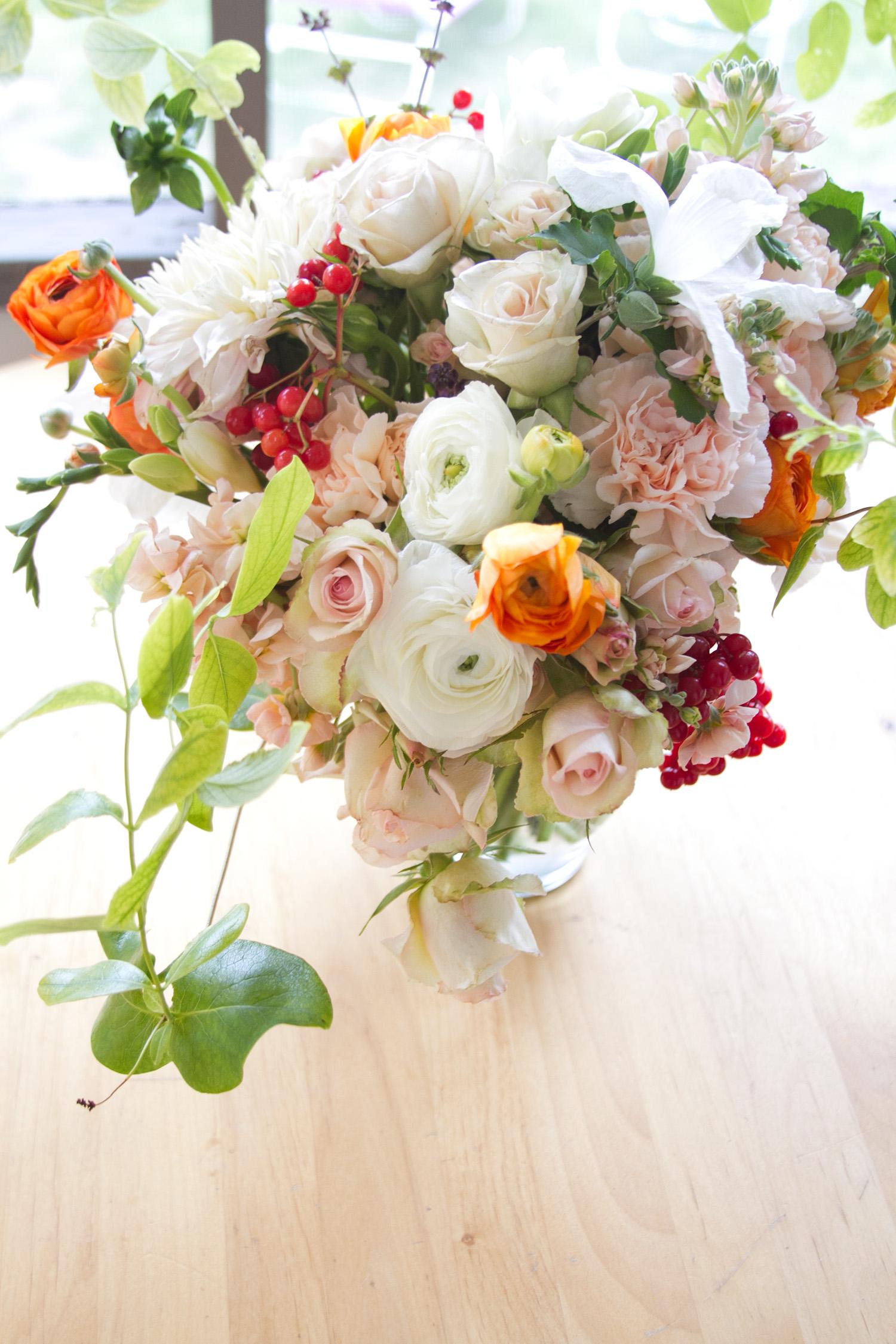 Grand Junction Wedding Flowers, Three Leaf Floral