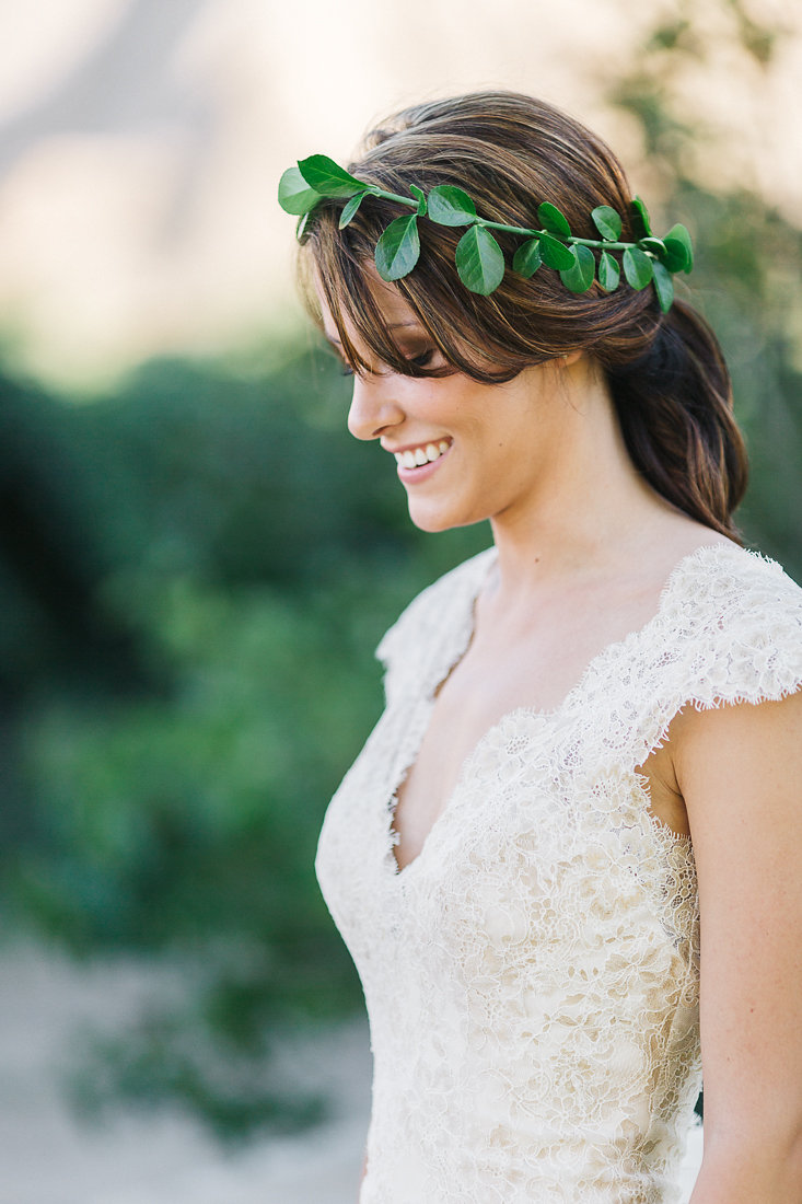 Flower Crown | 3 Leaf Floral | Vail Wedding Florist