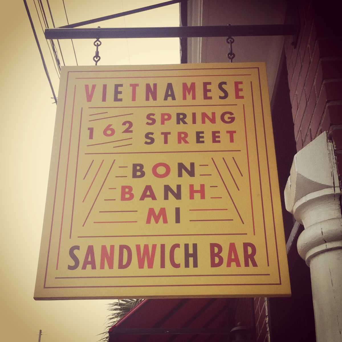 bon bahn tasty sandwiches for me!