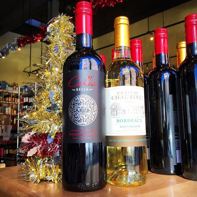 Wednesday's Two for $20 includes • 2014 Callia Bella Syrah Malbec • 2013 Chateau Chaubinet Sauvignon Blanc