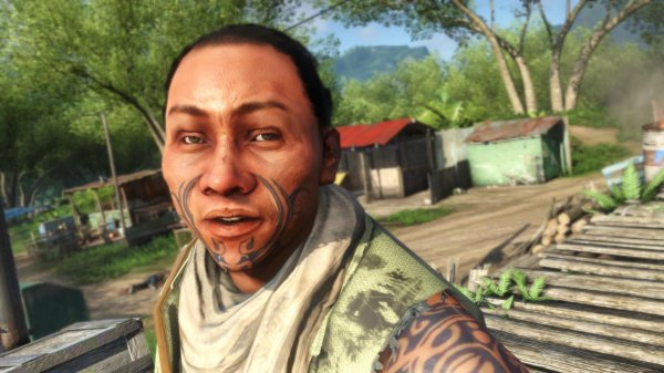 """Left image adapted from """"Wot I Think: Far Cry 3 (Single-Player)"""" by J. Rossignol, November 21, 2012,  Rock Paper Shotgun ."""