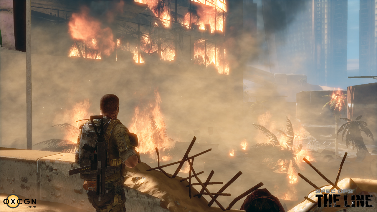 """Image adapted from """"The 'Horror' of Spec Ops: The Line Mirrors Heart of Darkness"""" by N. Laborde, 17 July 2012,  OXCGN ."""