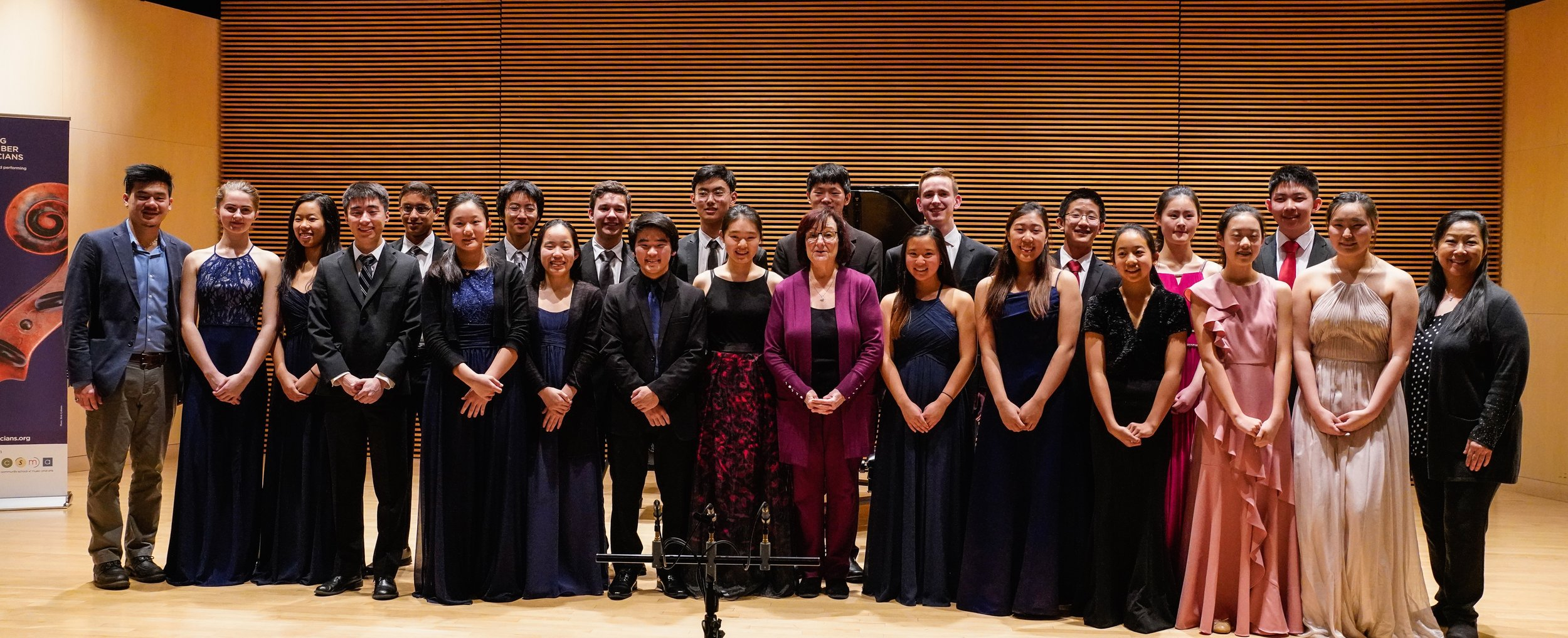 YCM Performers and Faculty
