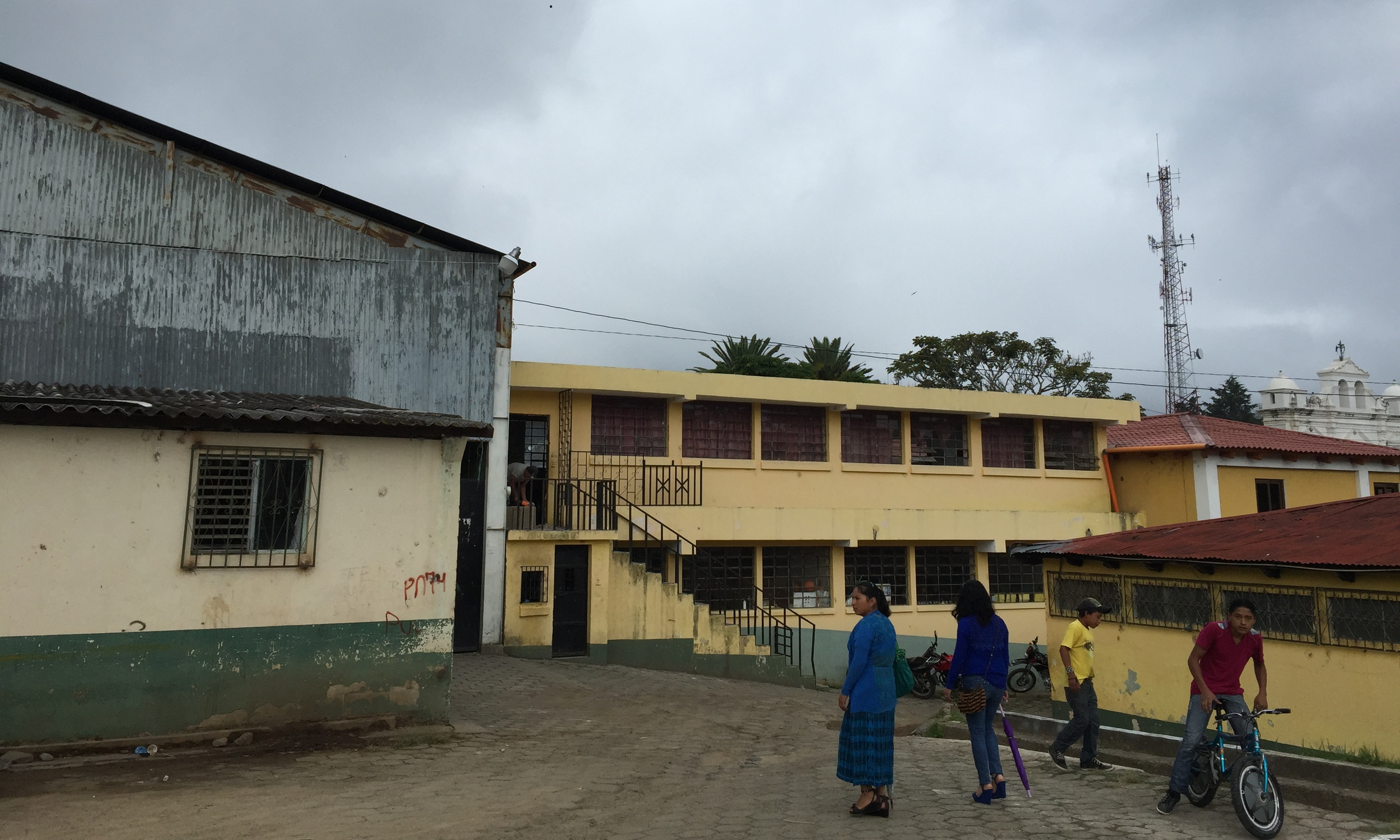 IEB San Andres Semetebaj, May 2015  (Junior High School where Elsa works)