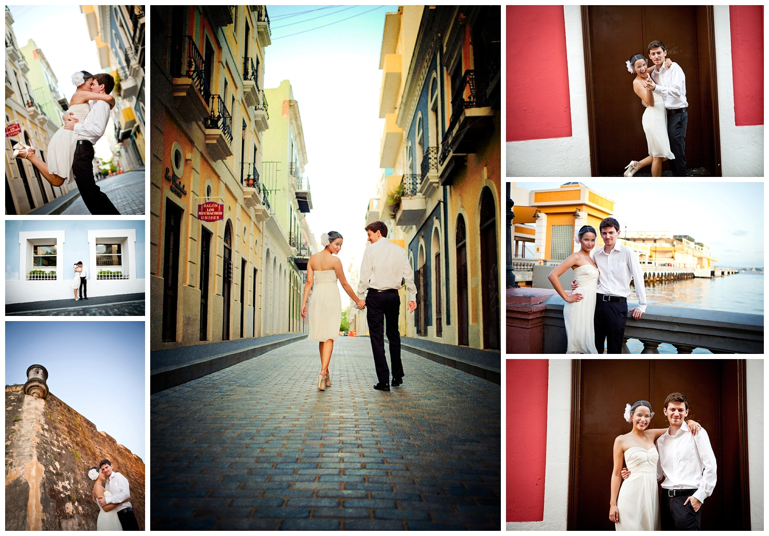 WEDDING PHOTOS IN OLD SAN JUAN, PUERTO RICO