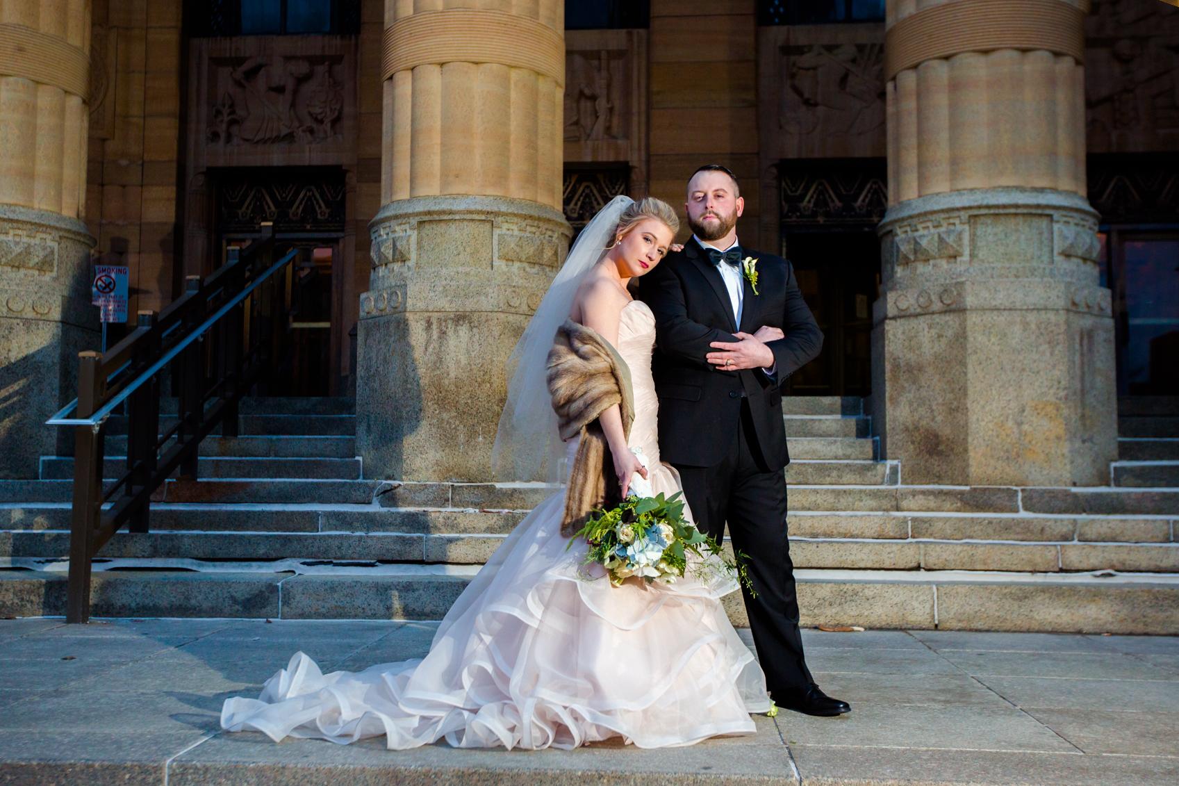 Alyssa Klein & Chris Coehn | Hotel At Lafayette Buffalo, NY
