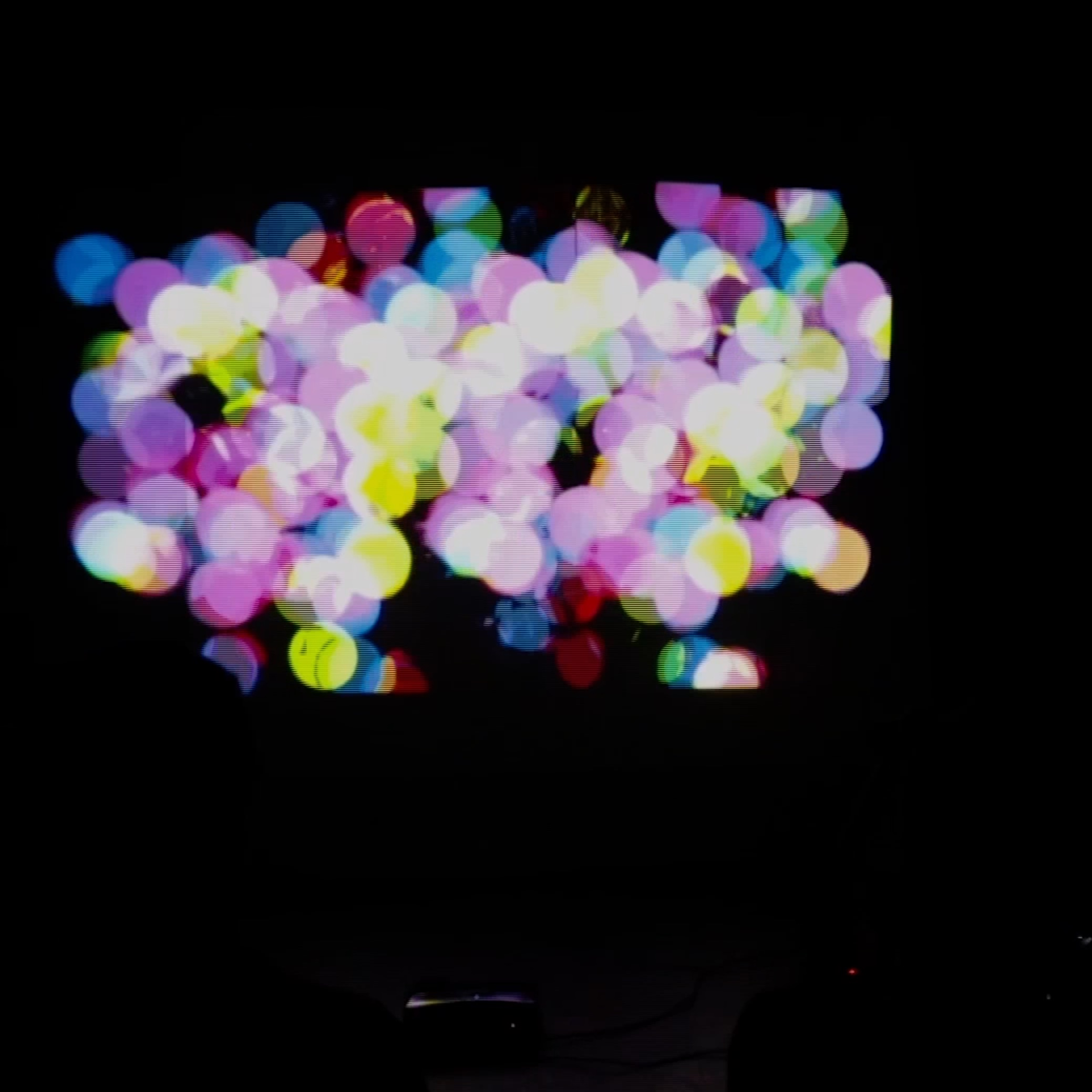 live electronics + visuals