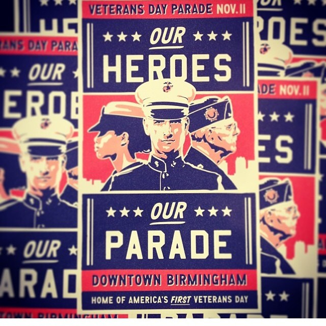 Hey #revbirmingham Street Team! We need your help canvassing the city in preparation for Monday's Veteran's Day parade. Email us: revive@revbirmingham.org and we'll get you all set up. Thanks in advance for being so awesome! #ourvets #bham #instagrambham