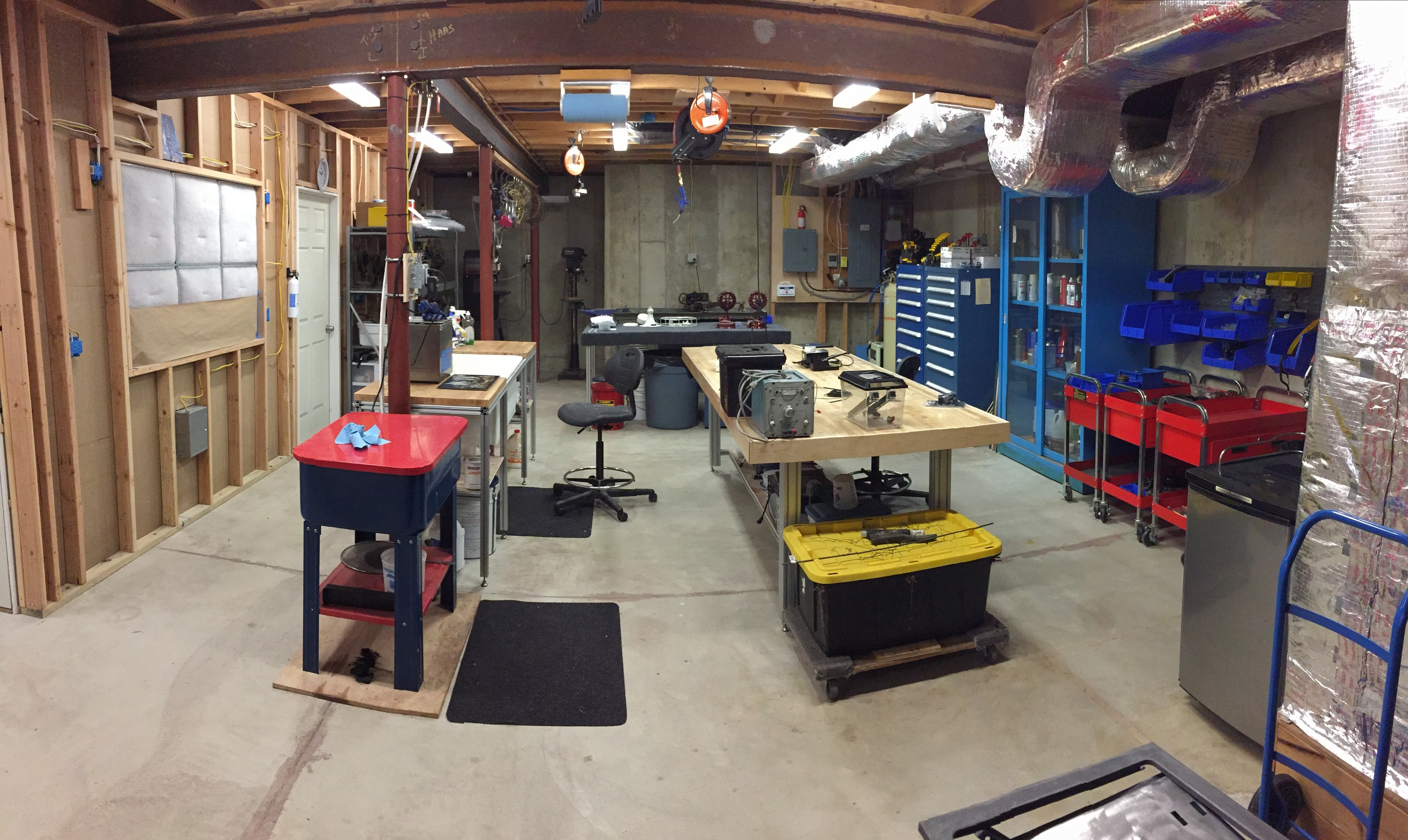 A general shot of the main part of the shop.