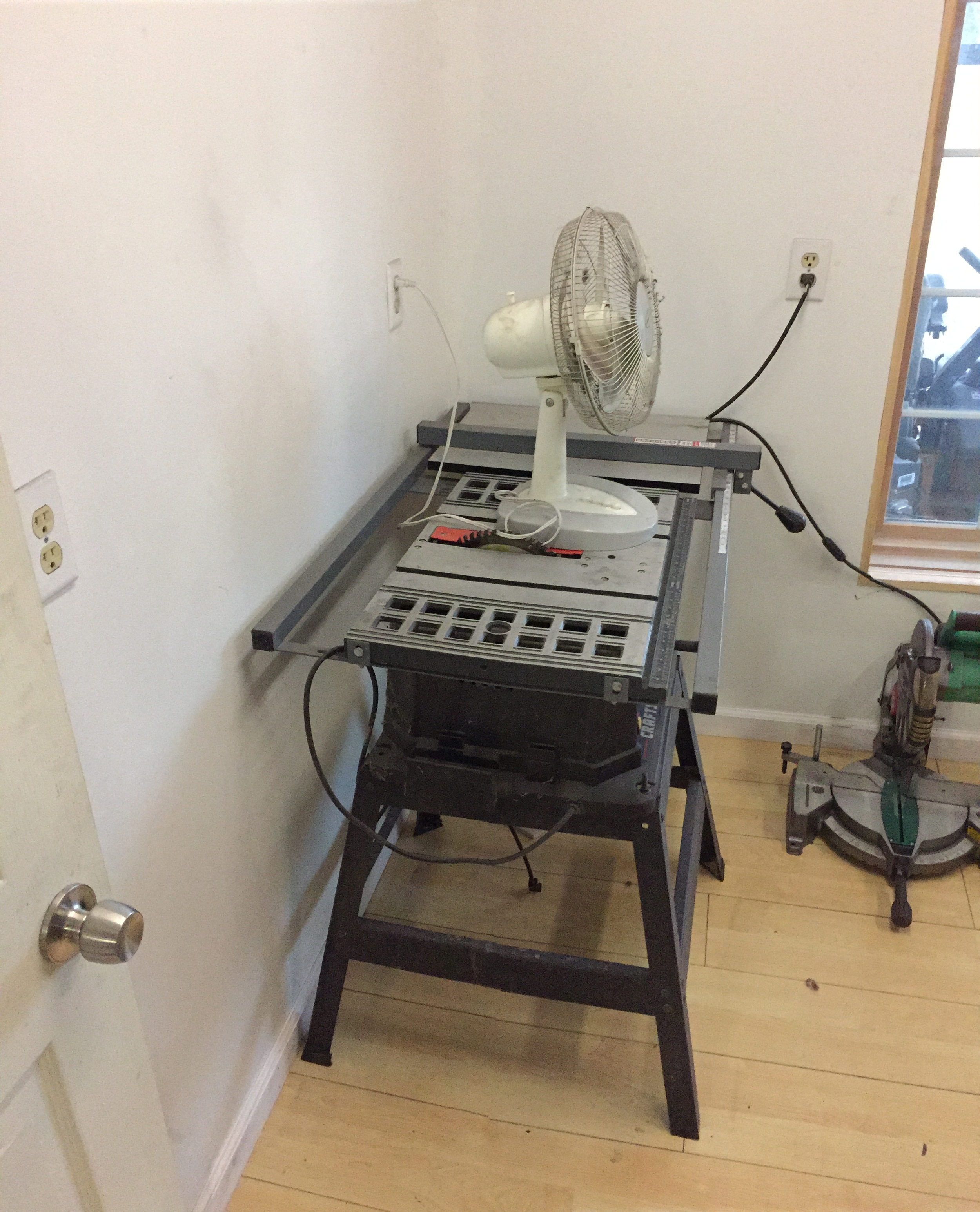 My trusty table saw. Had it for close to 20 years!