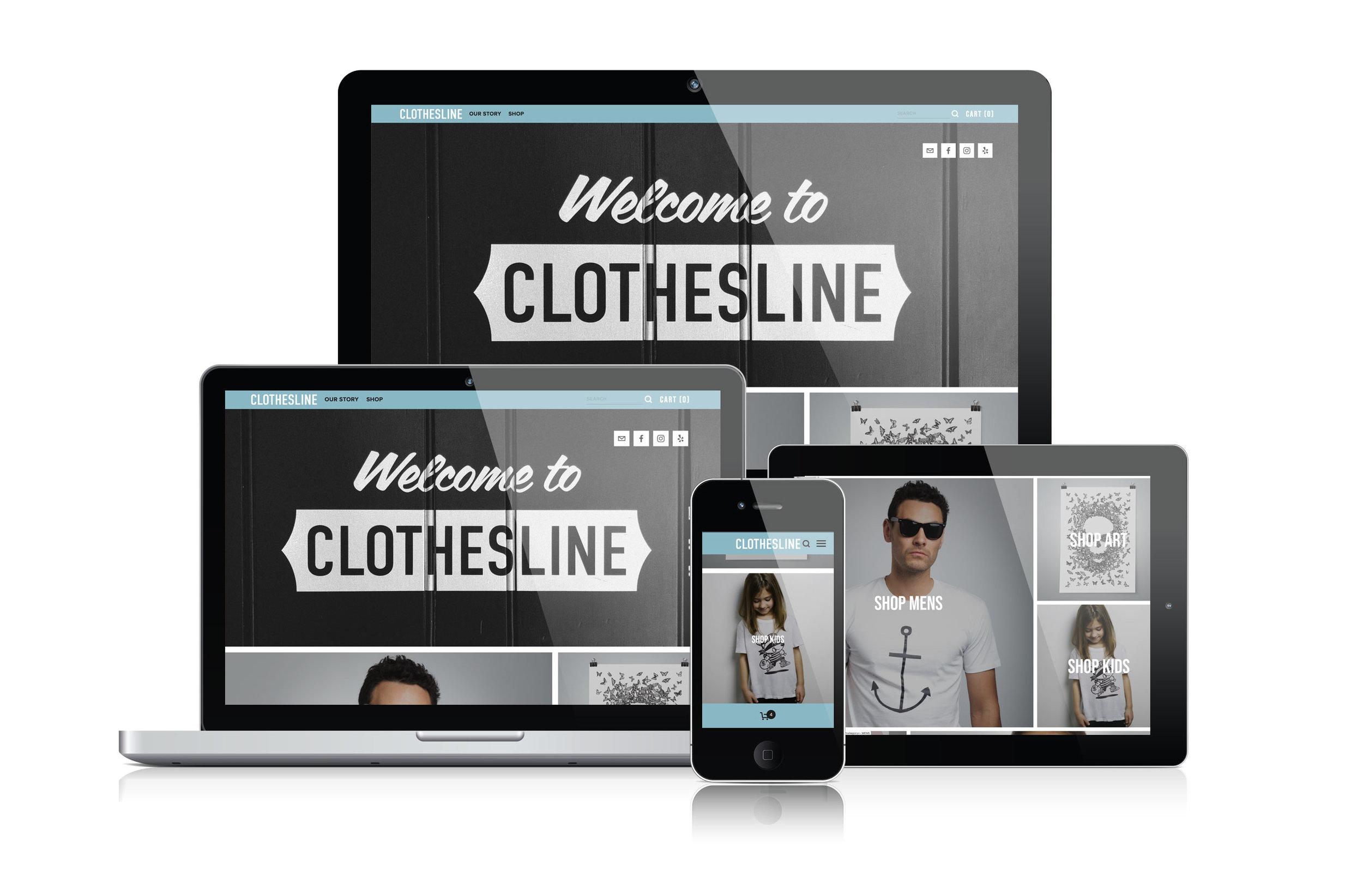Clothesline E-Commerce