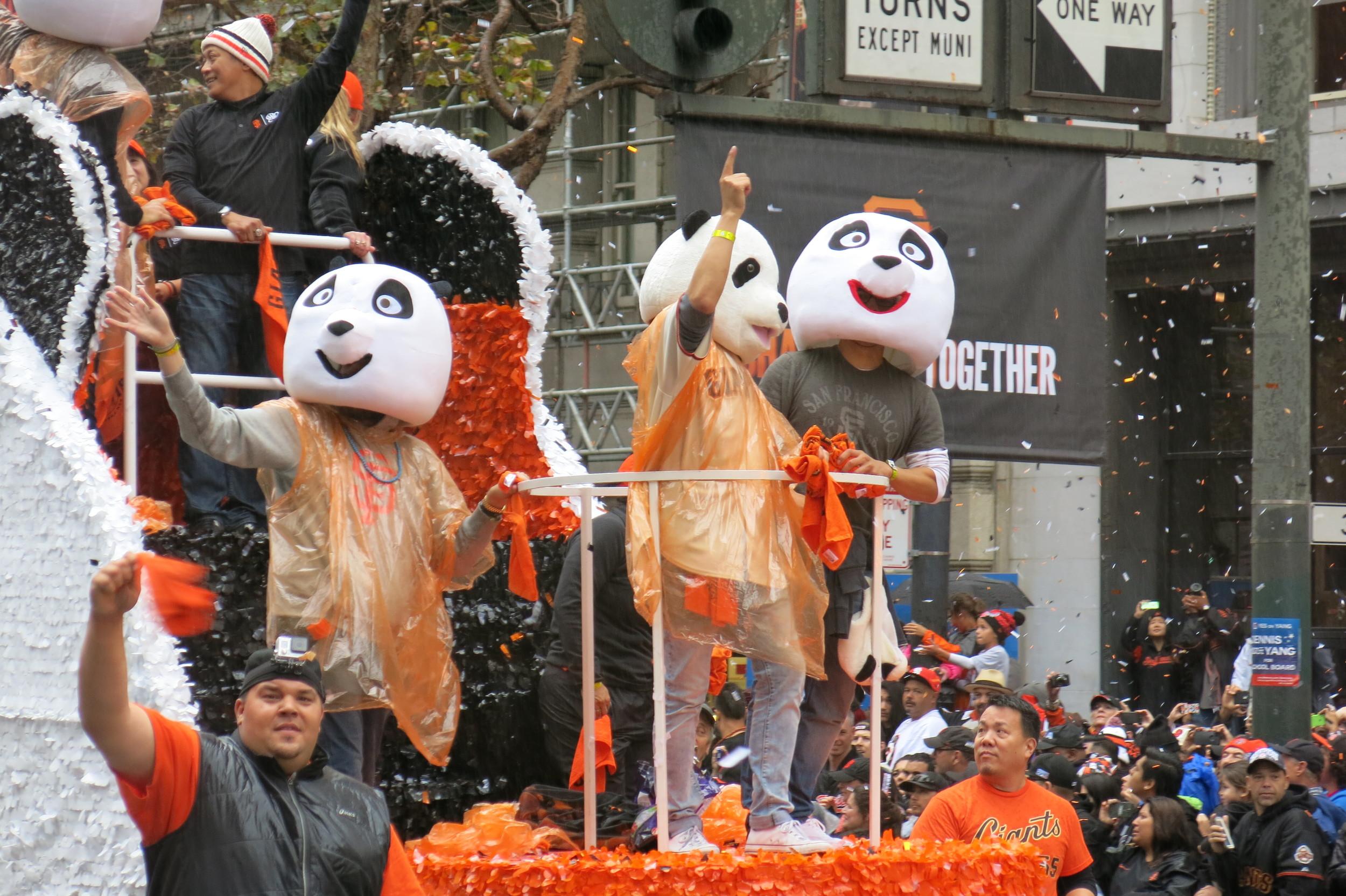 The Panda Float