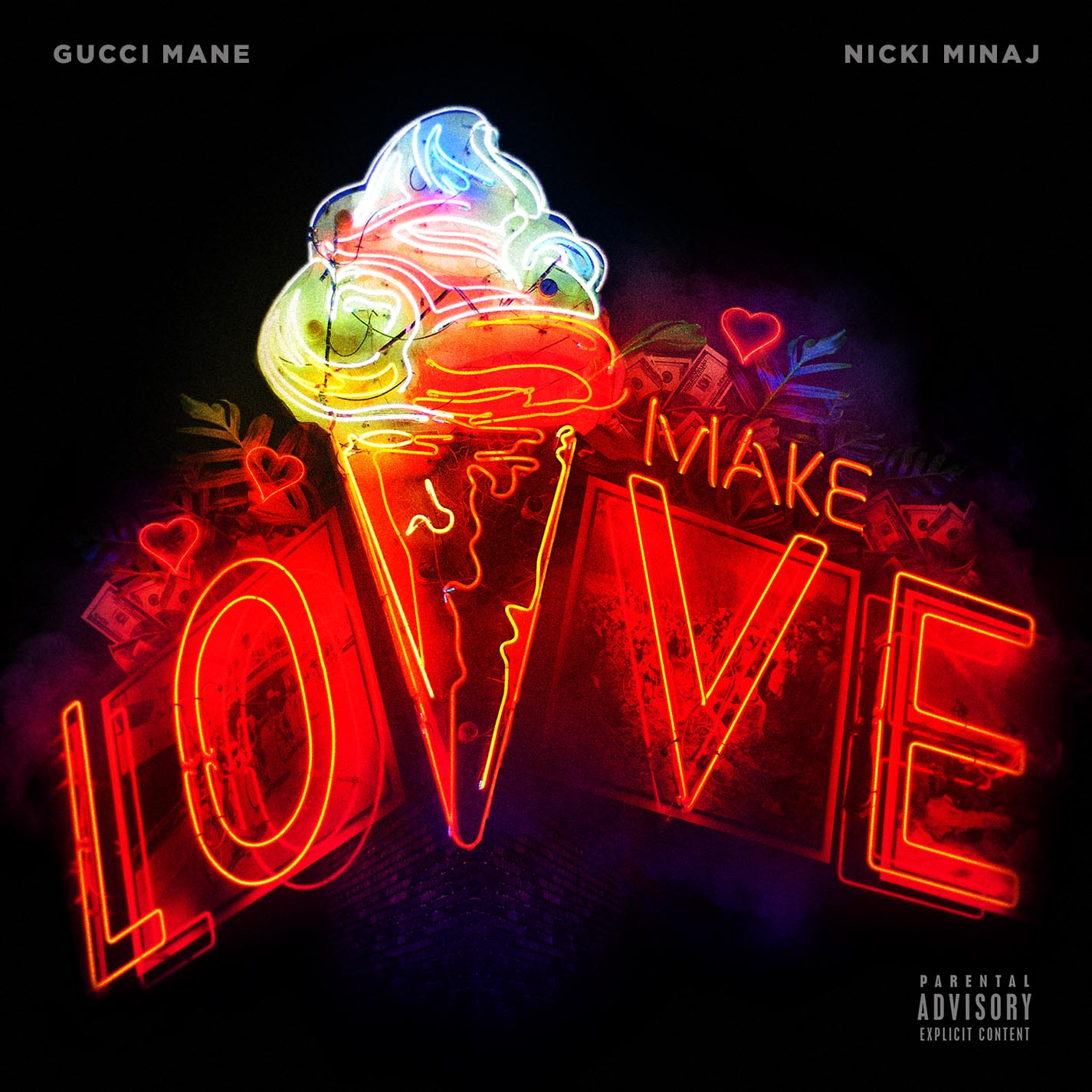 Gucci Mane and Nicki Minaj - Make Love single art