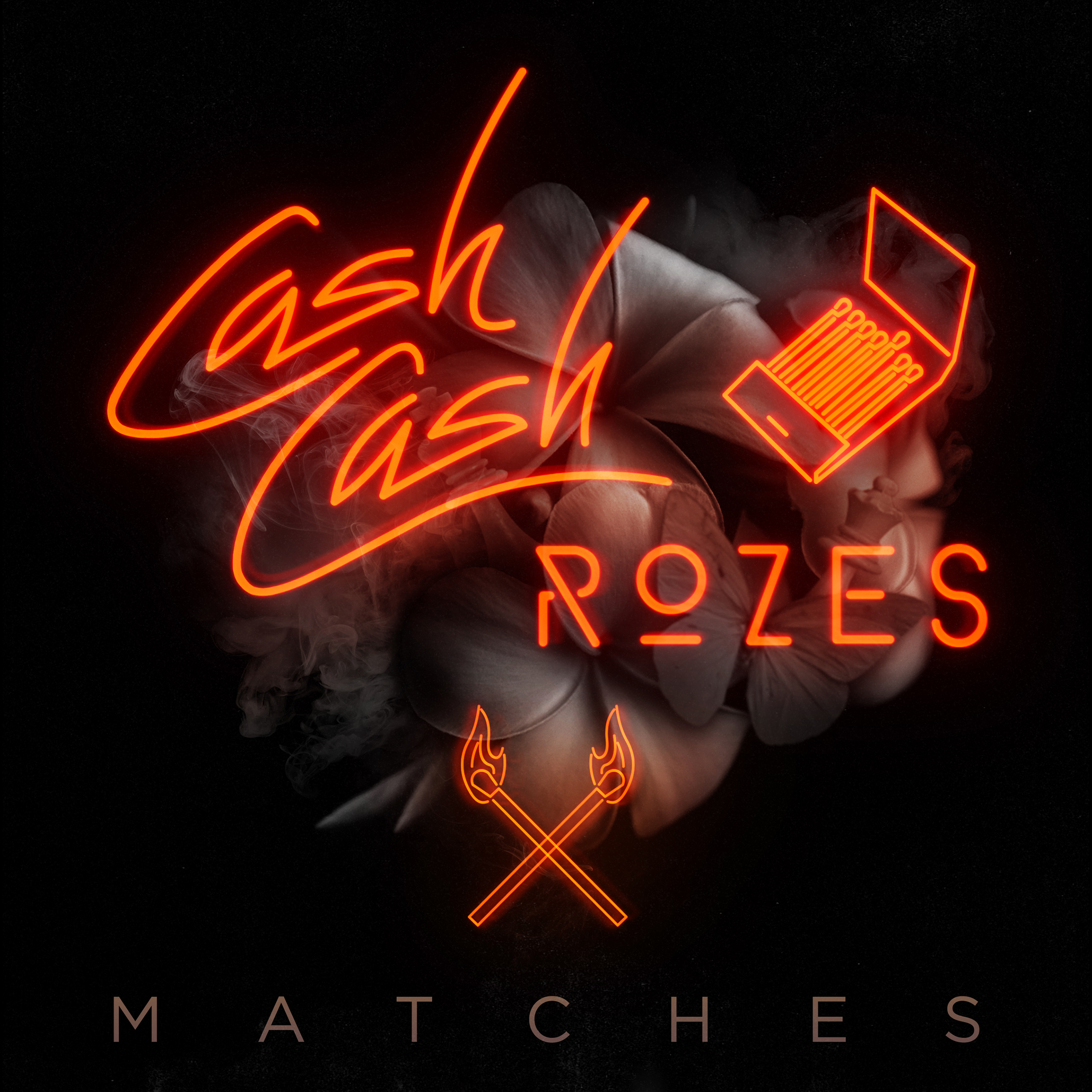 Cash Cash and Rozes - Matches single art