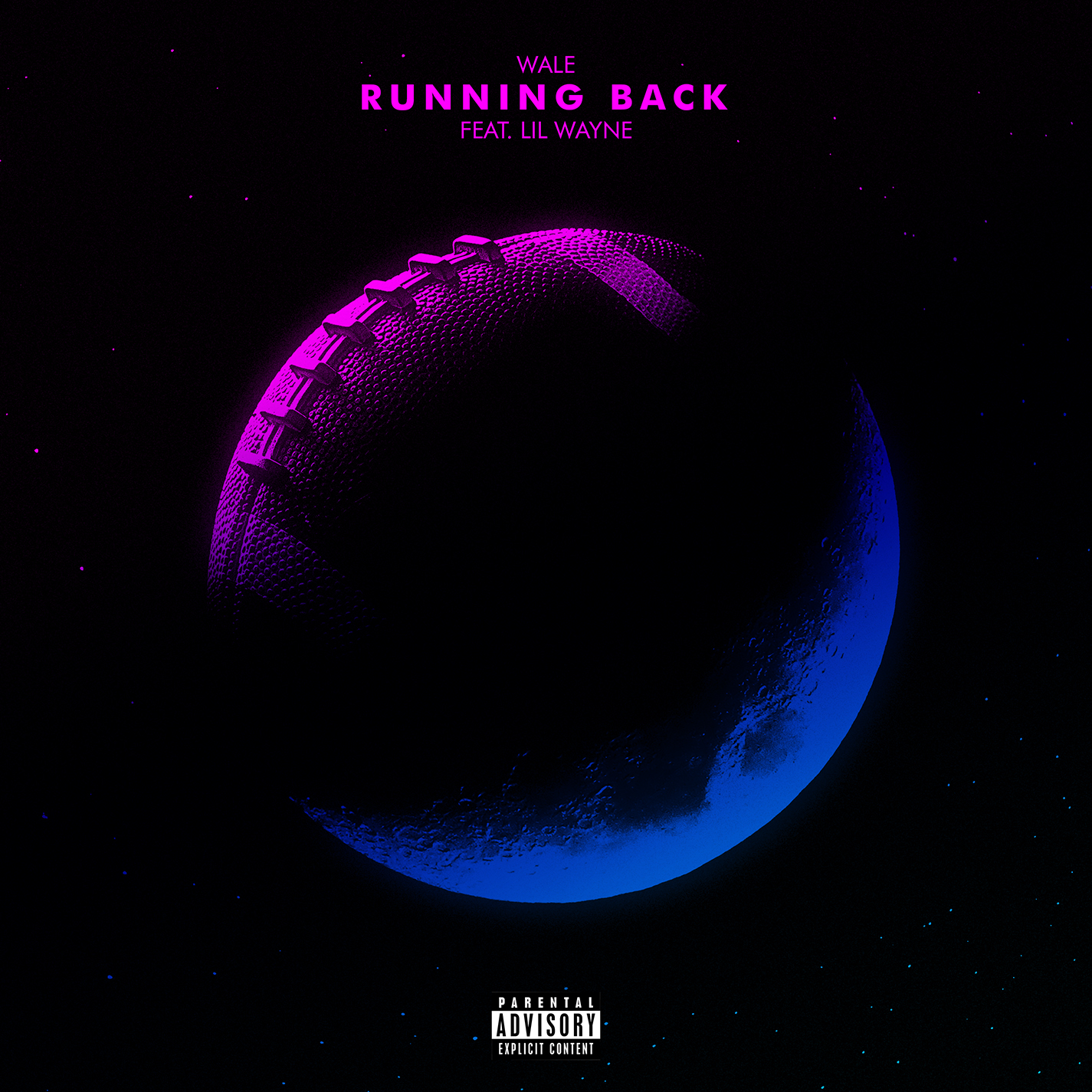 Wale and Lil Wayne - Running Back single art