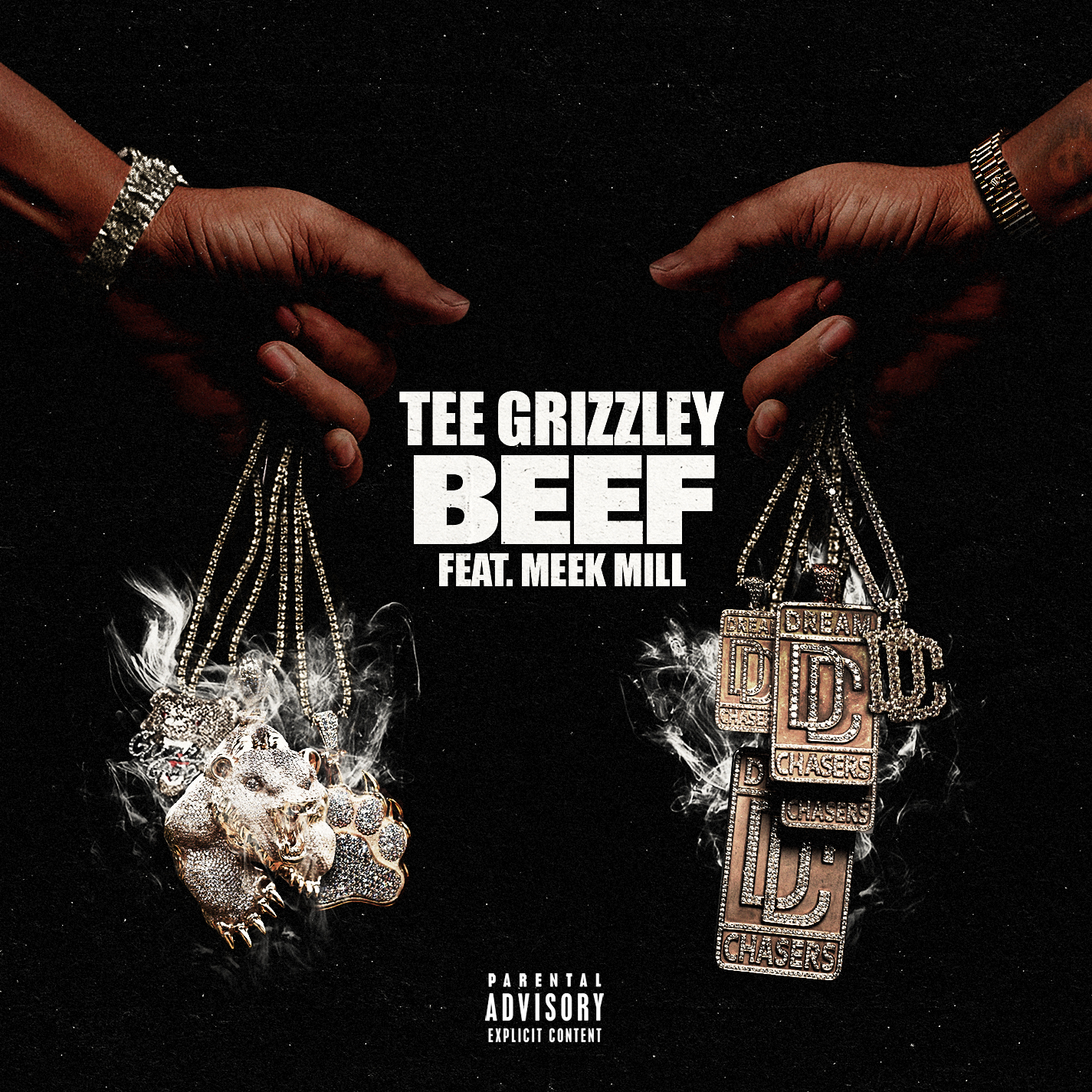 Tee Grizzley - Beef single art